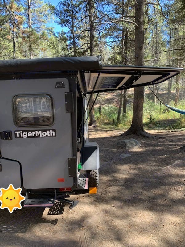 TigerMoth in action. TAXA Outdoors Tigermoth Camper 2019