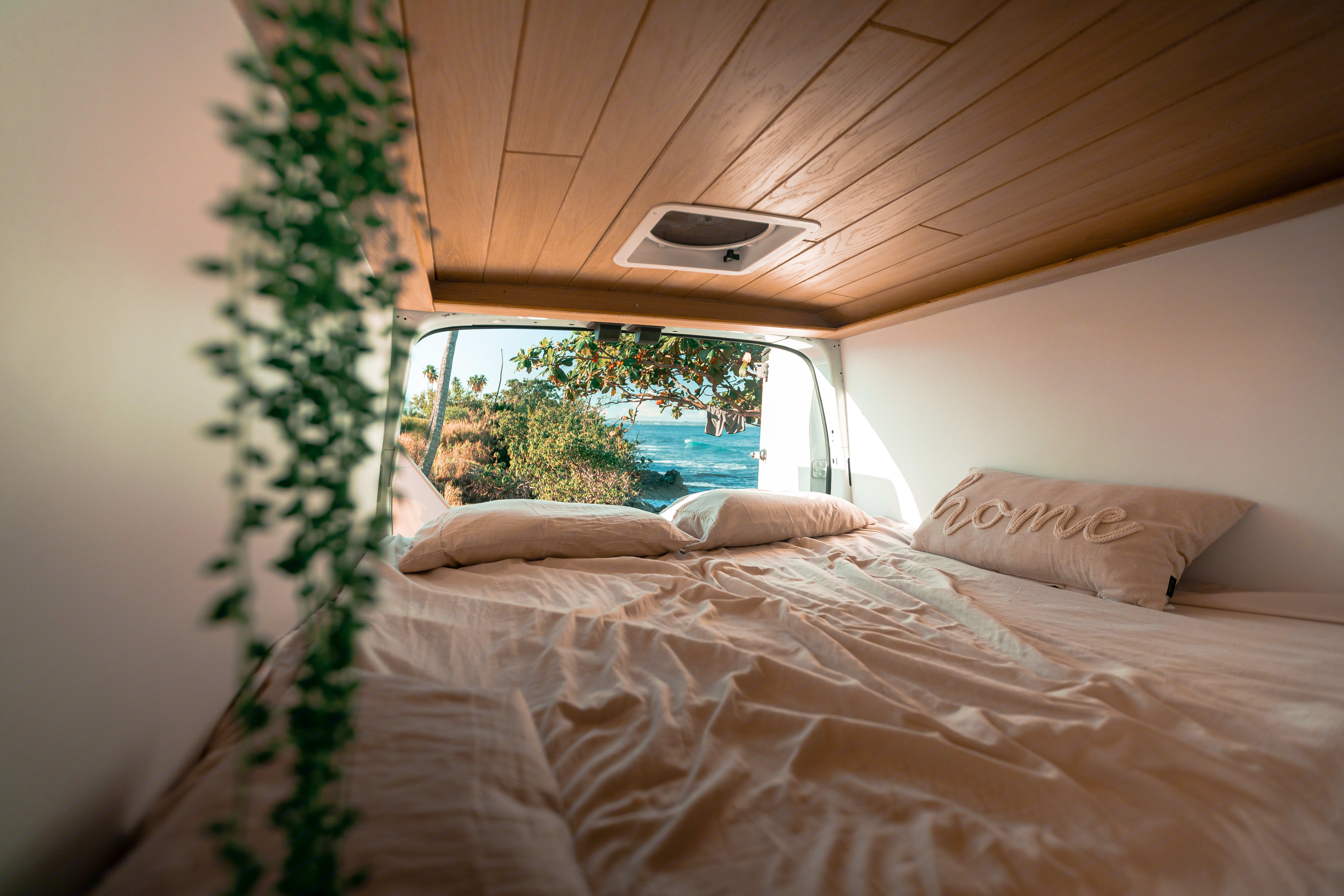 Make your favorite spot the morning view.. Ford Transit 2018