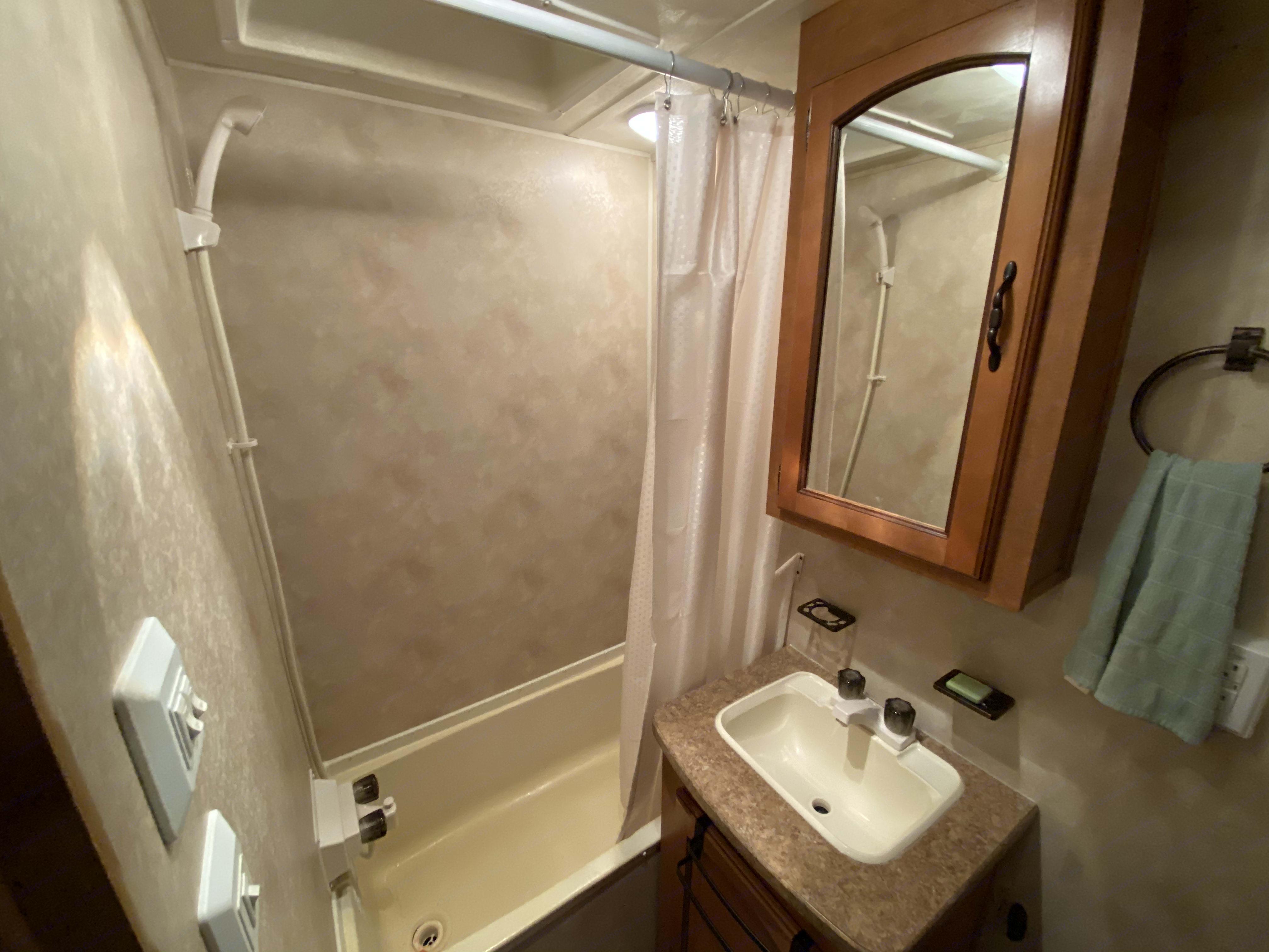 Shower. ForestRiver Puma 2011