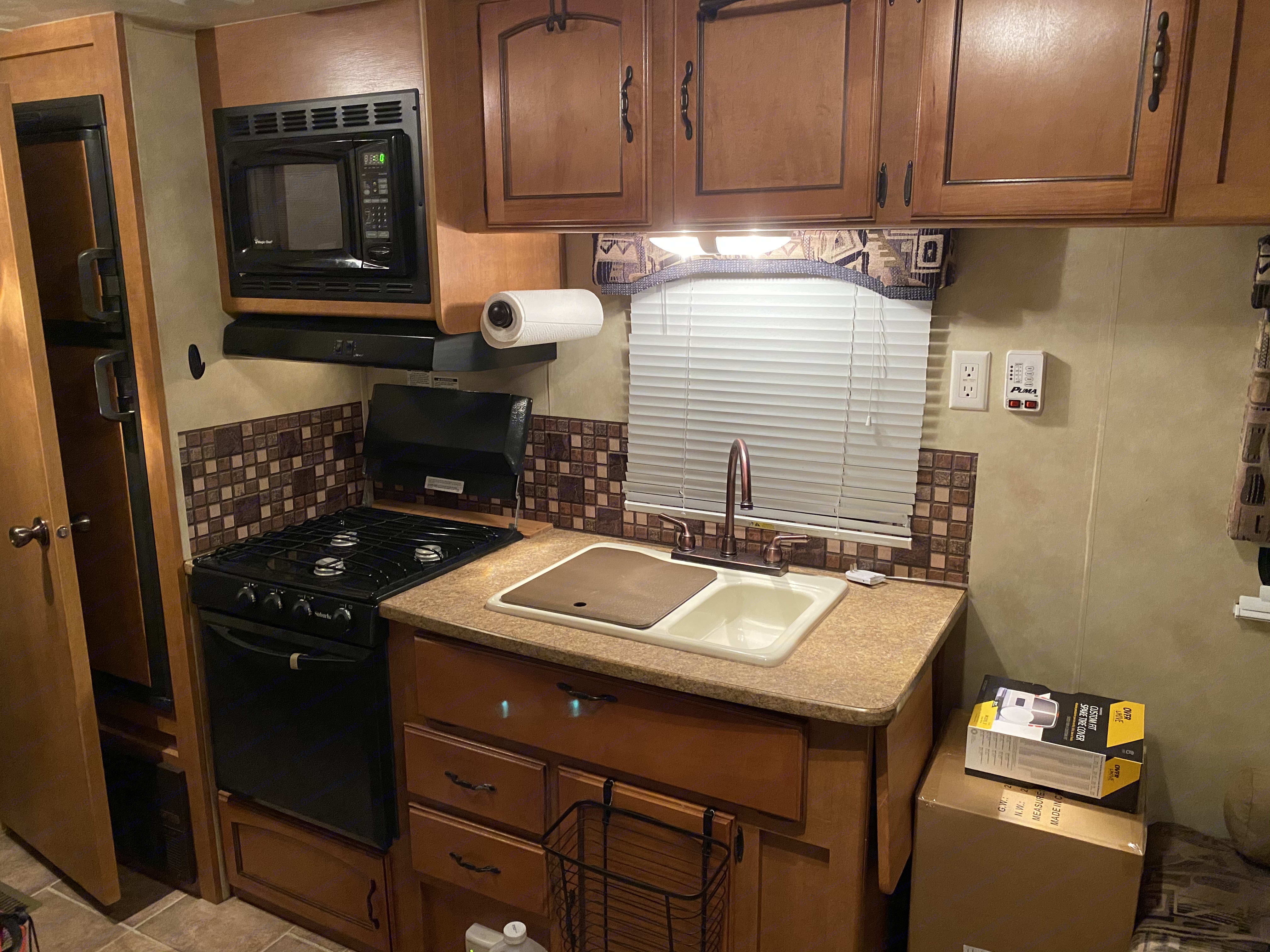 Kitchen. ForestRiver Puma 2011