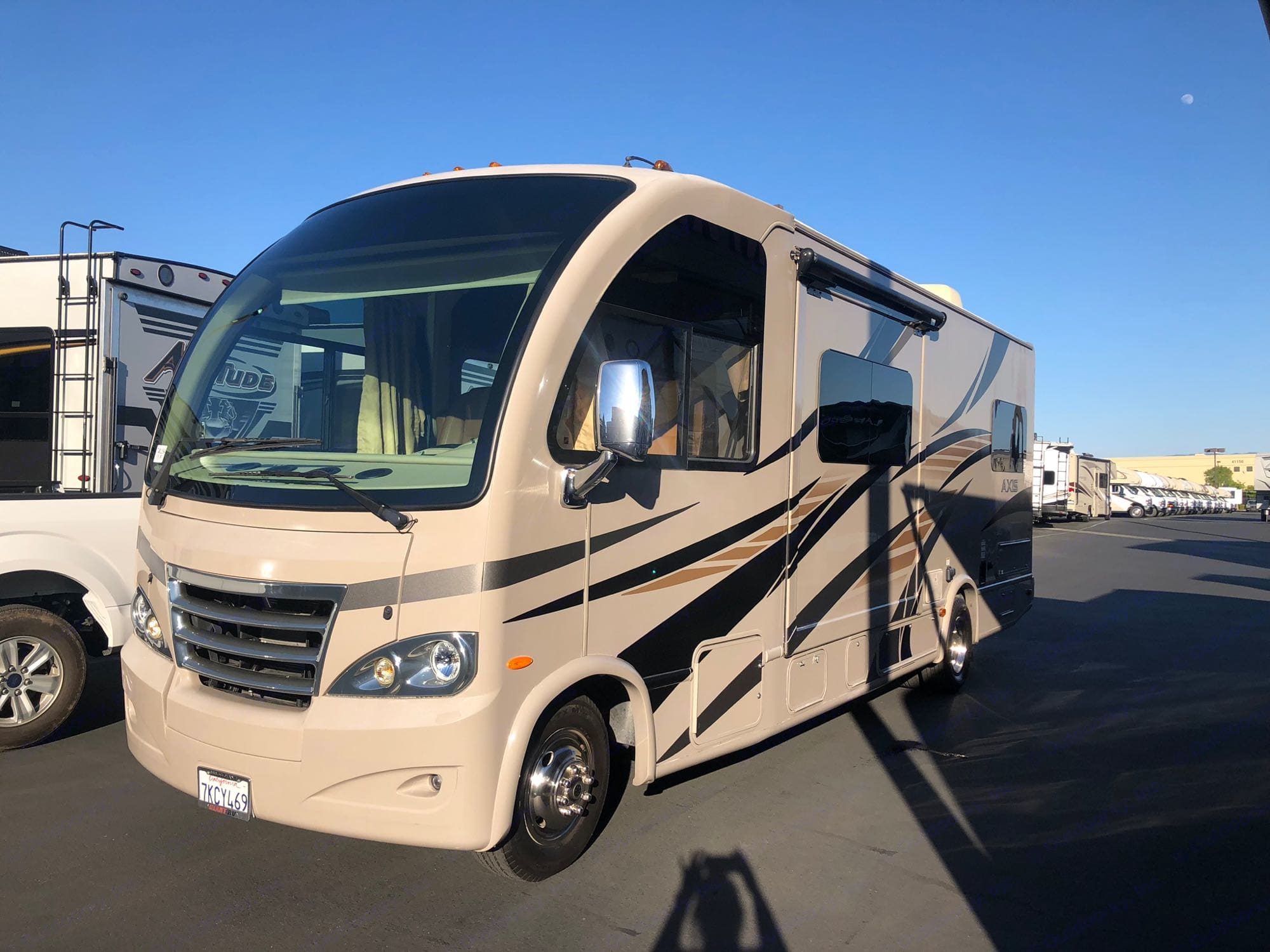 Here's Bessie!. Thor Motor Coach Axis 2015