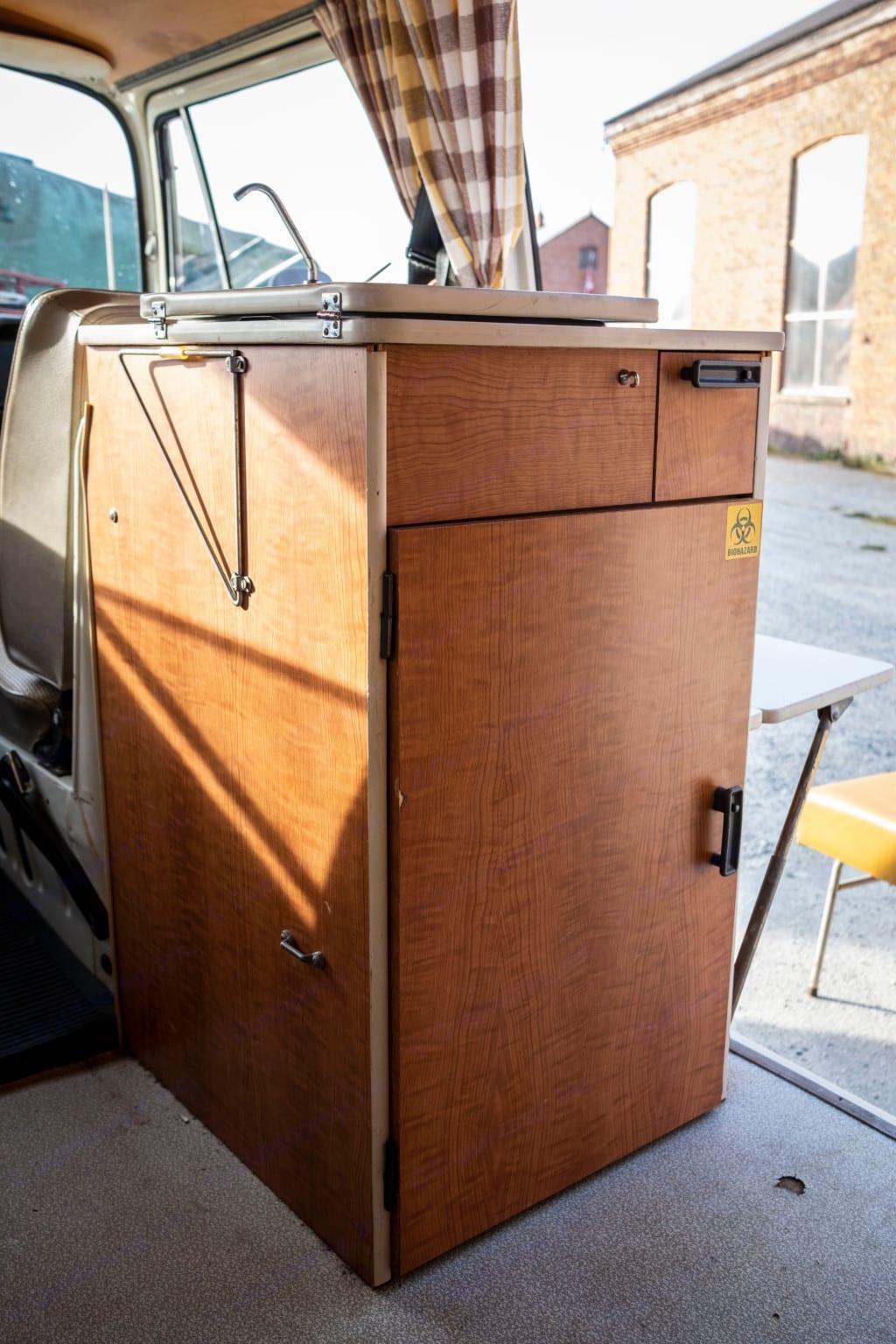 Cooler. Volkswagen Westfalia 1969
