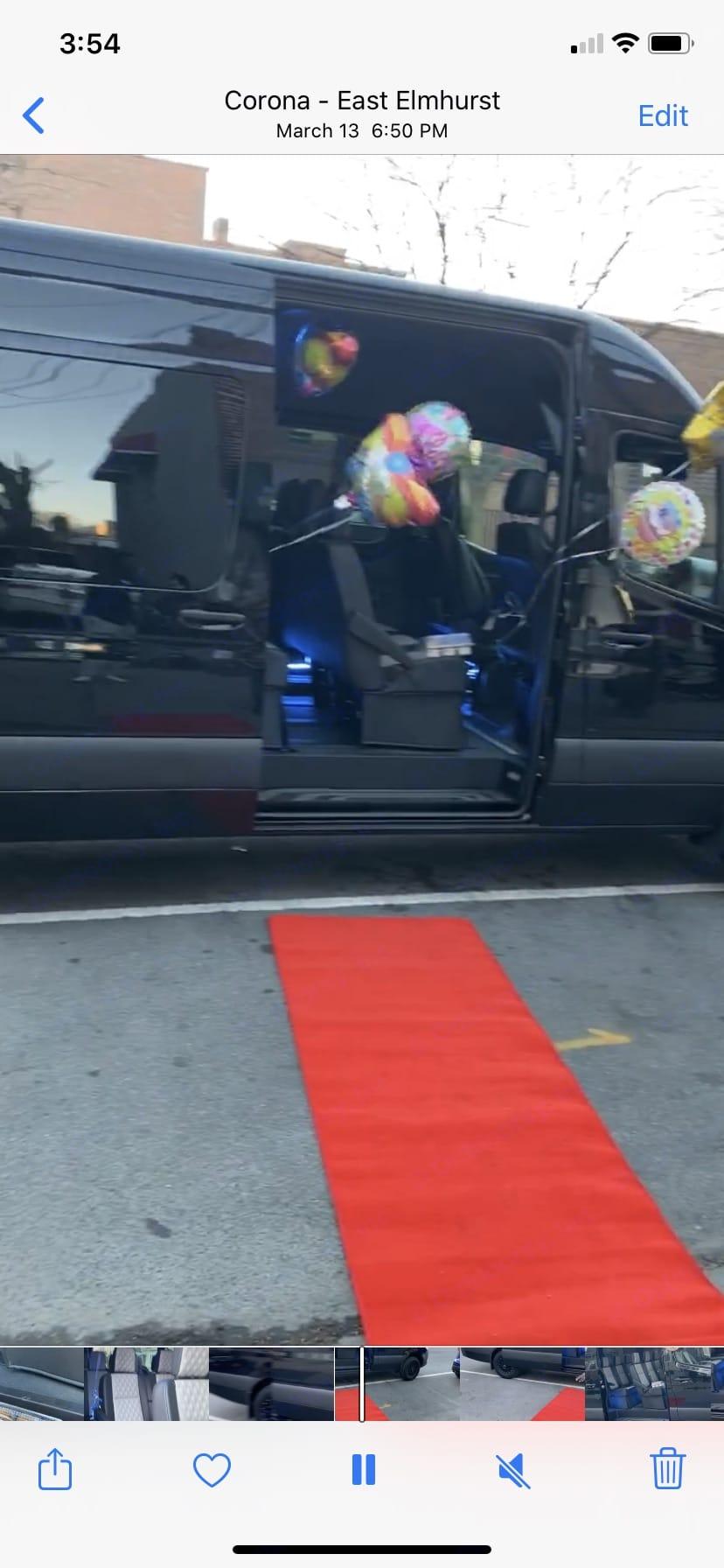 """One lucky woman's birthday arrival. Mercedes-Benz Sprinter """"170"""" 2500 long wheel base 2019"""