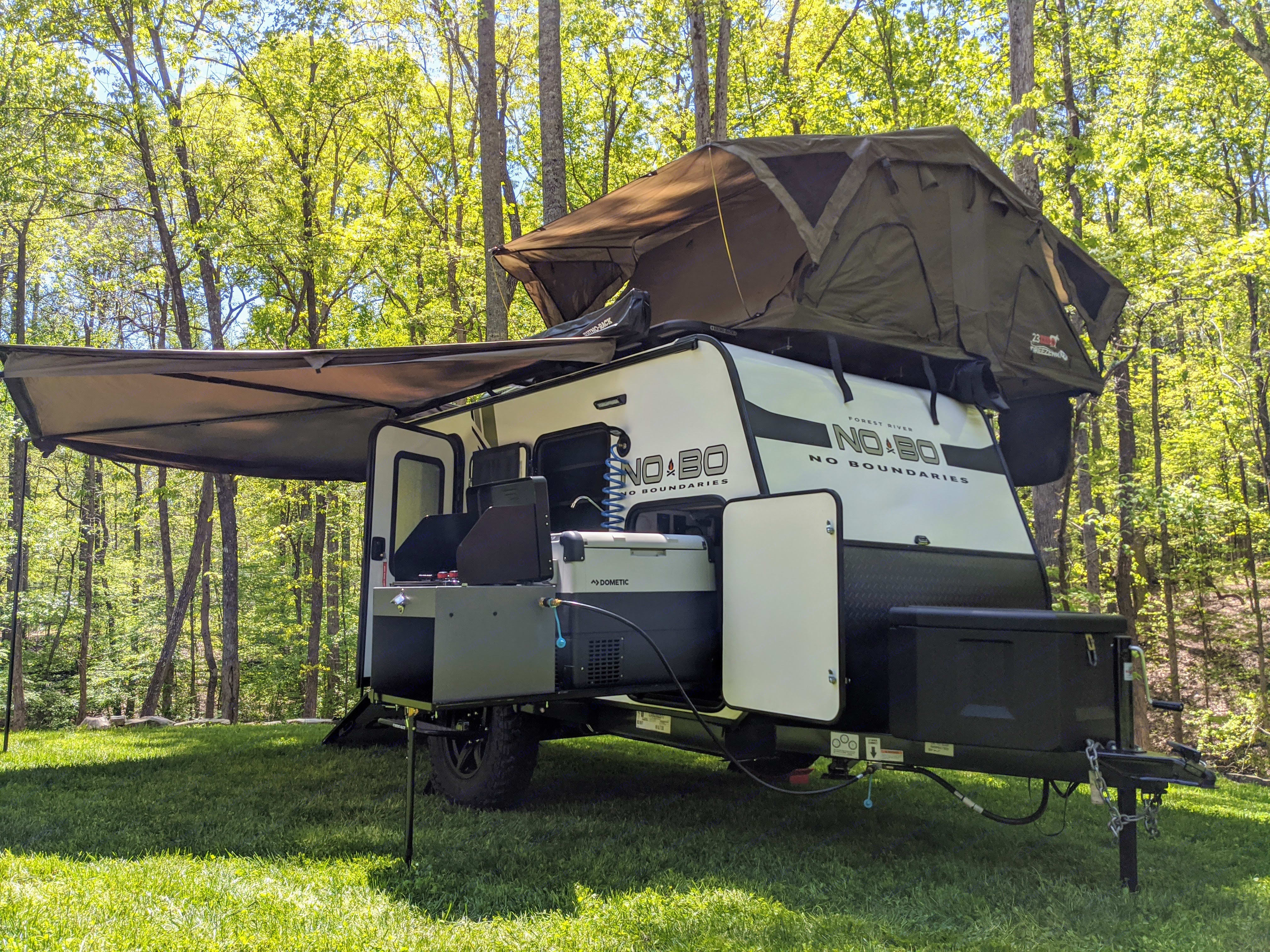Awesome, versatile rig is perfect for Family Getaways, Overlanding, Tailgating, Hunting, and more!. Forest River No Boundaries 10.6 2020