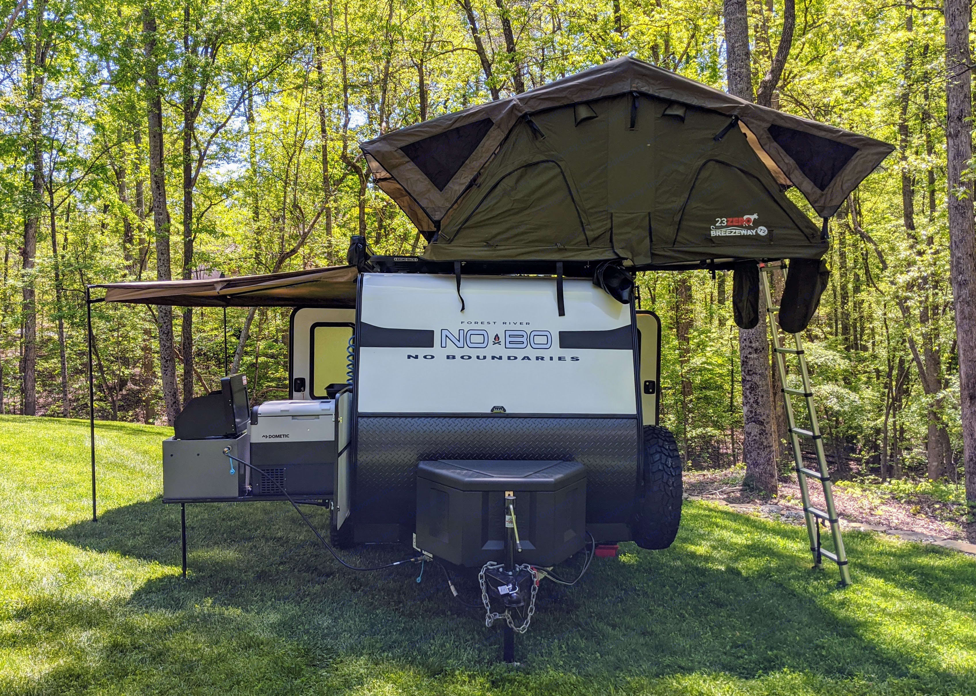 Available 23 Zero roof top tent (Add-on). Forest River No Boundaries 10.6 2020
