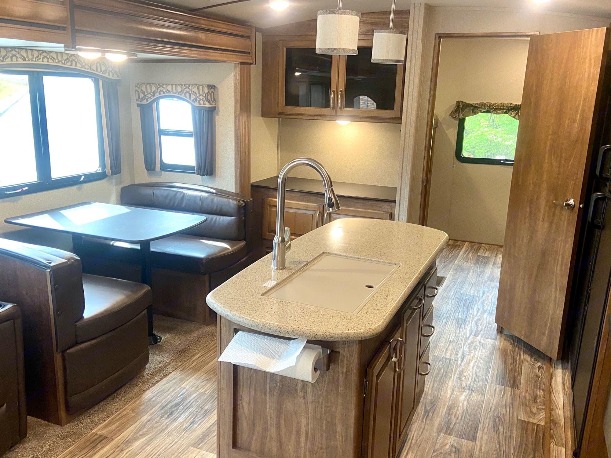 Unbelievably spacious. Keystone Laredo 2019