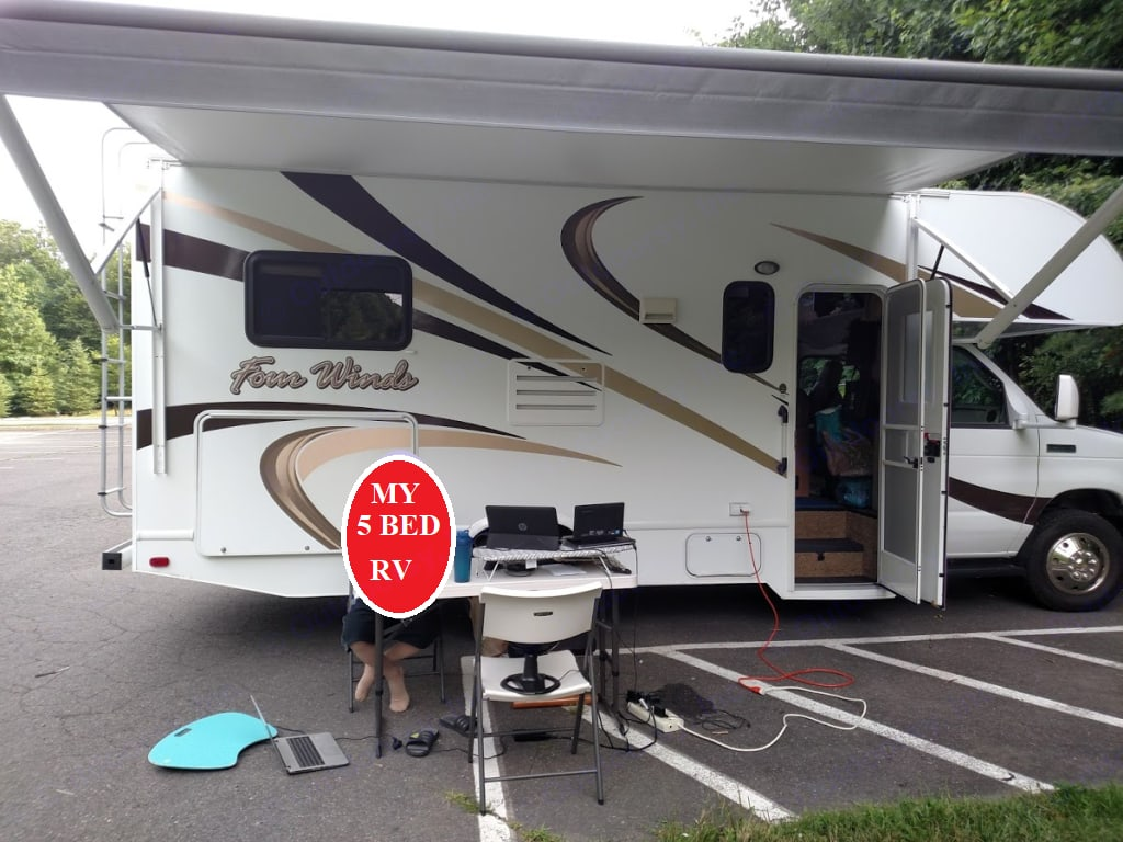 Life is Best When You are Camping. Thor Motor Coach Four Winds 2015