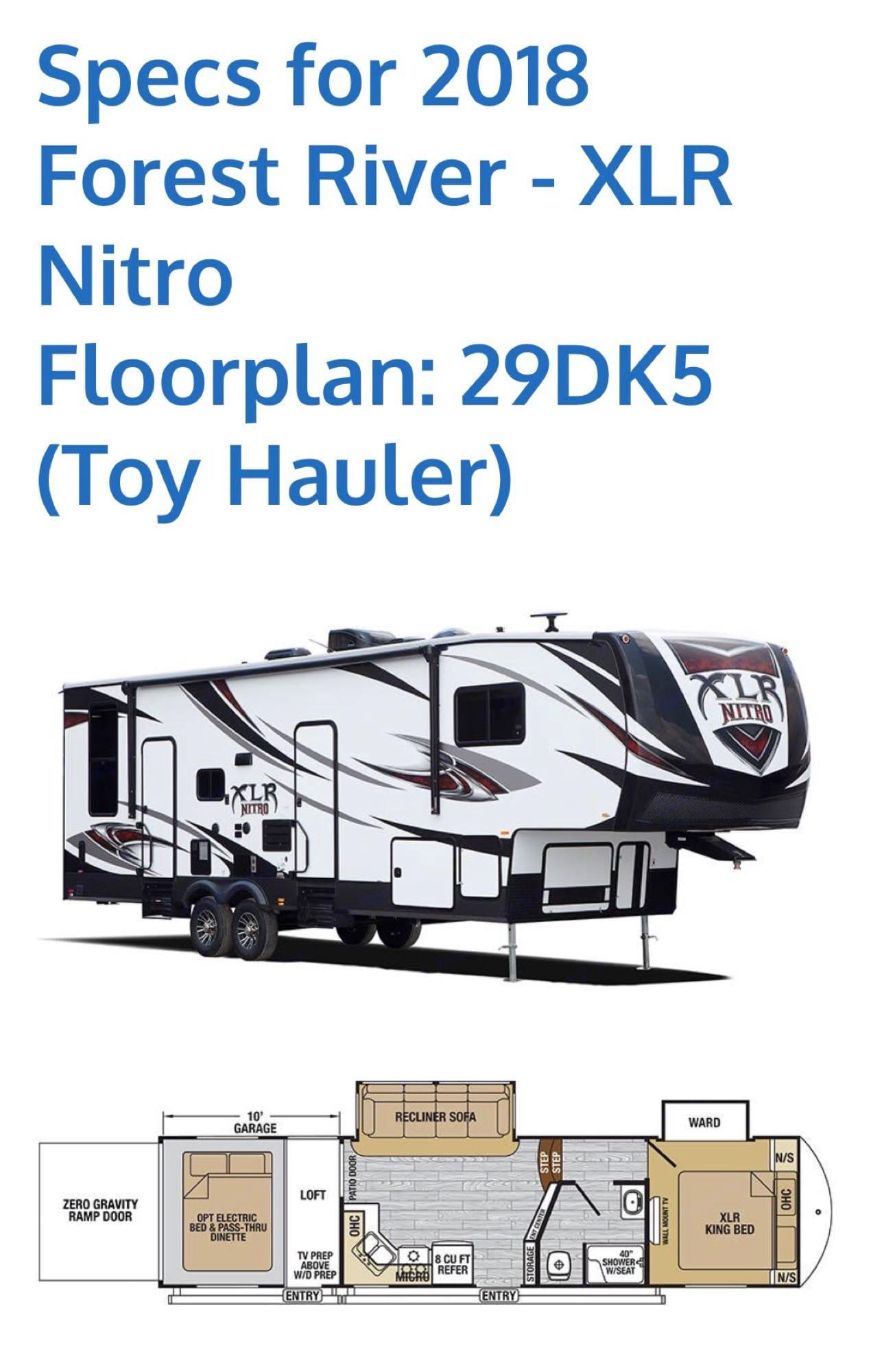 Forest River Nitro Xlr 2018