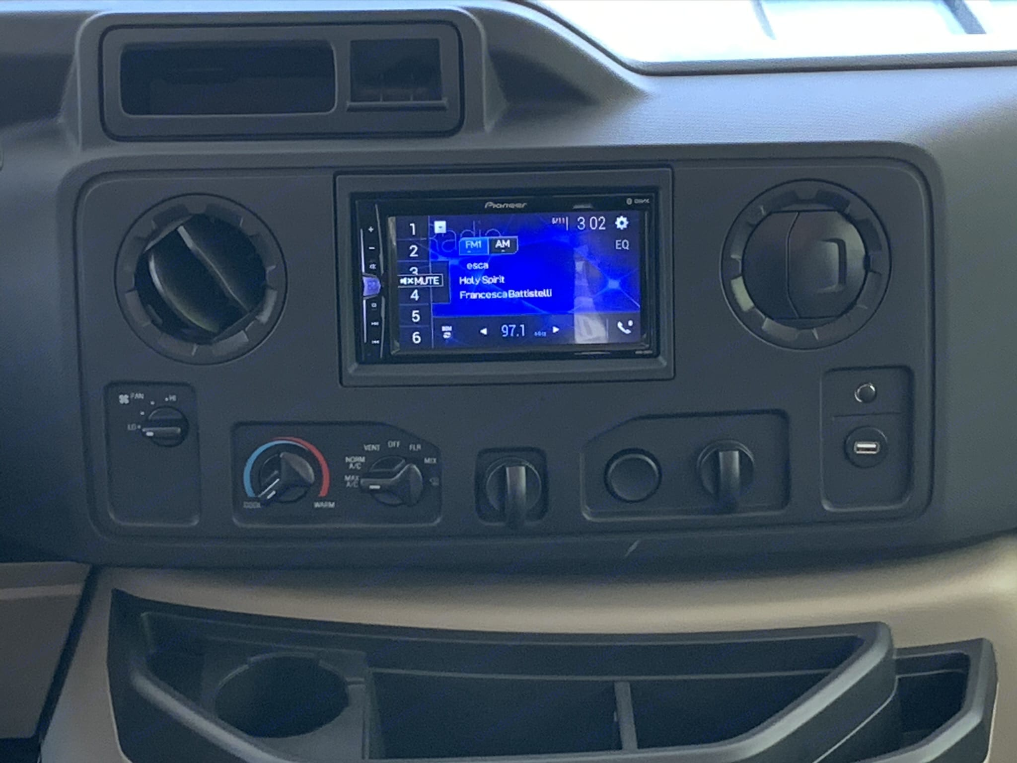 Back up camera and convenient display. Forest River Forester 3251DSLE 2020