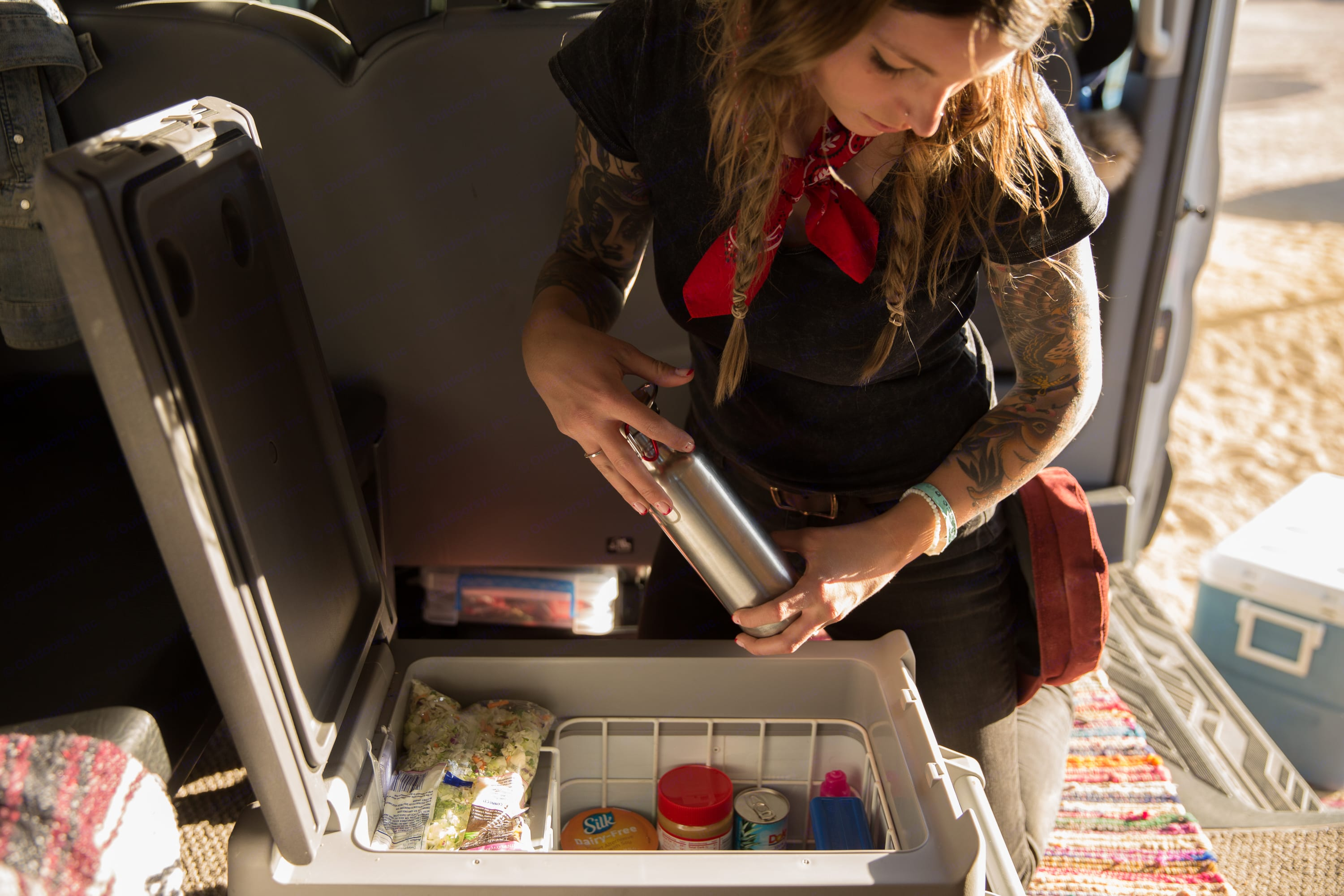 Keep your food cool. Ford transit 2015