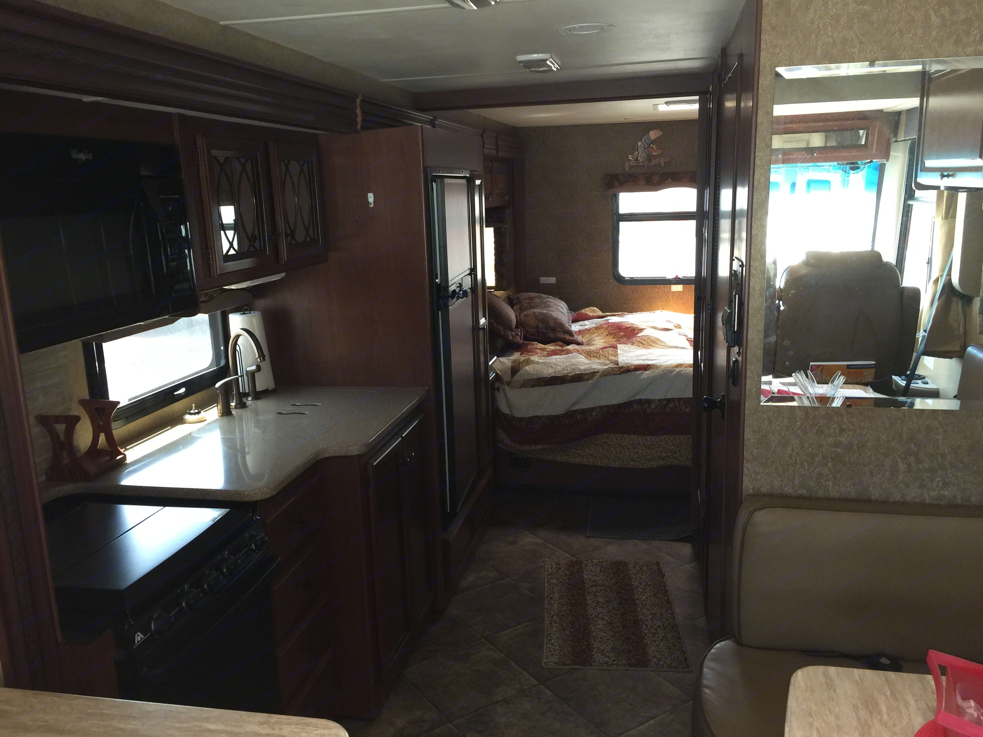 enough room for 2 people to pass. Thor Motor Coach Windsport 2015