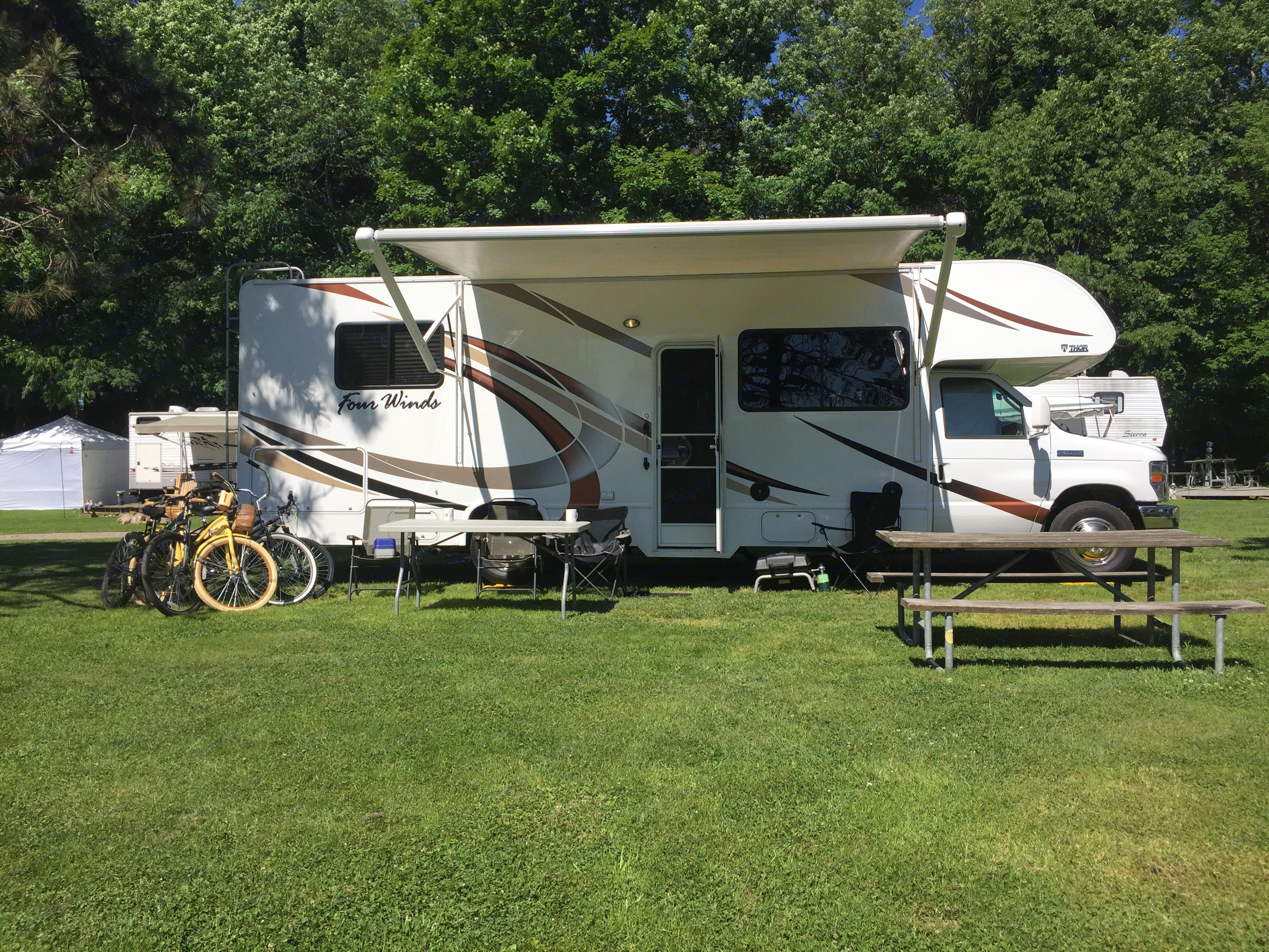 Local Camp Site. Thor Motor Coach Four Winds 2018
