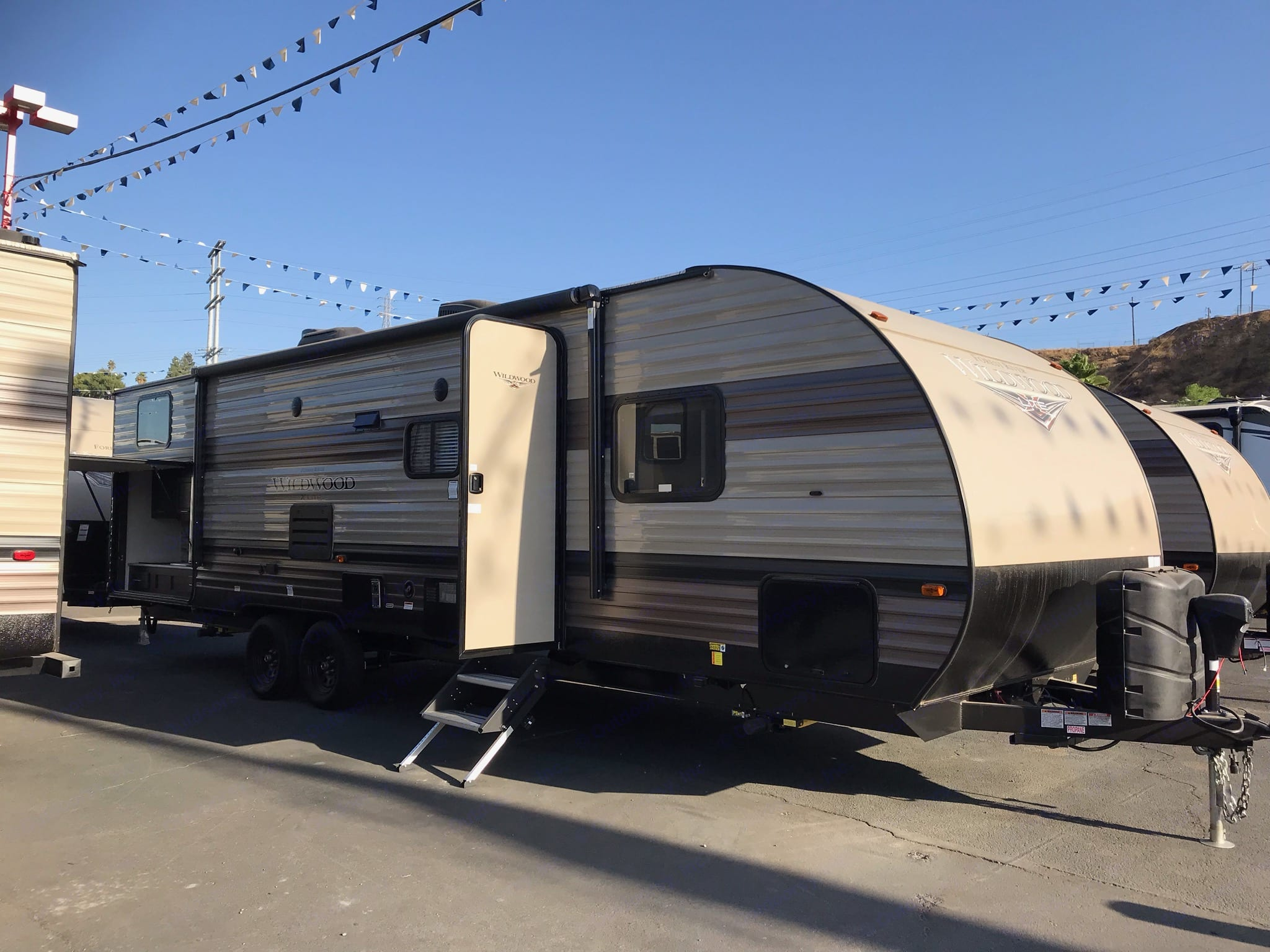 New 2020 trailer. Forest River Wildwood X-Lite 2020