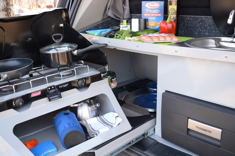 Get Lost Travel Vans Kitchen. Dodge Grand Caravan 2016