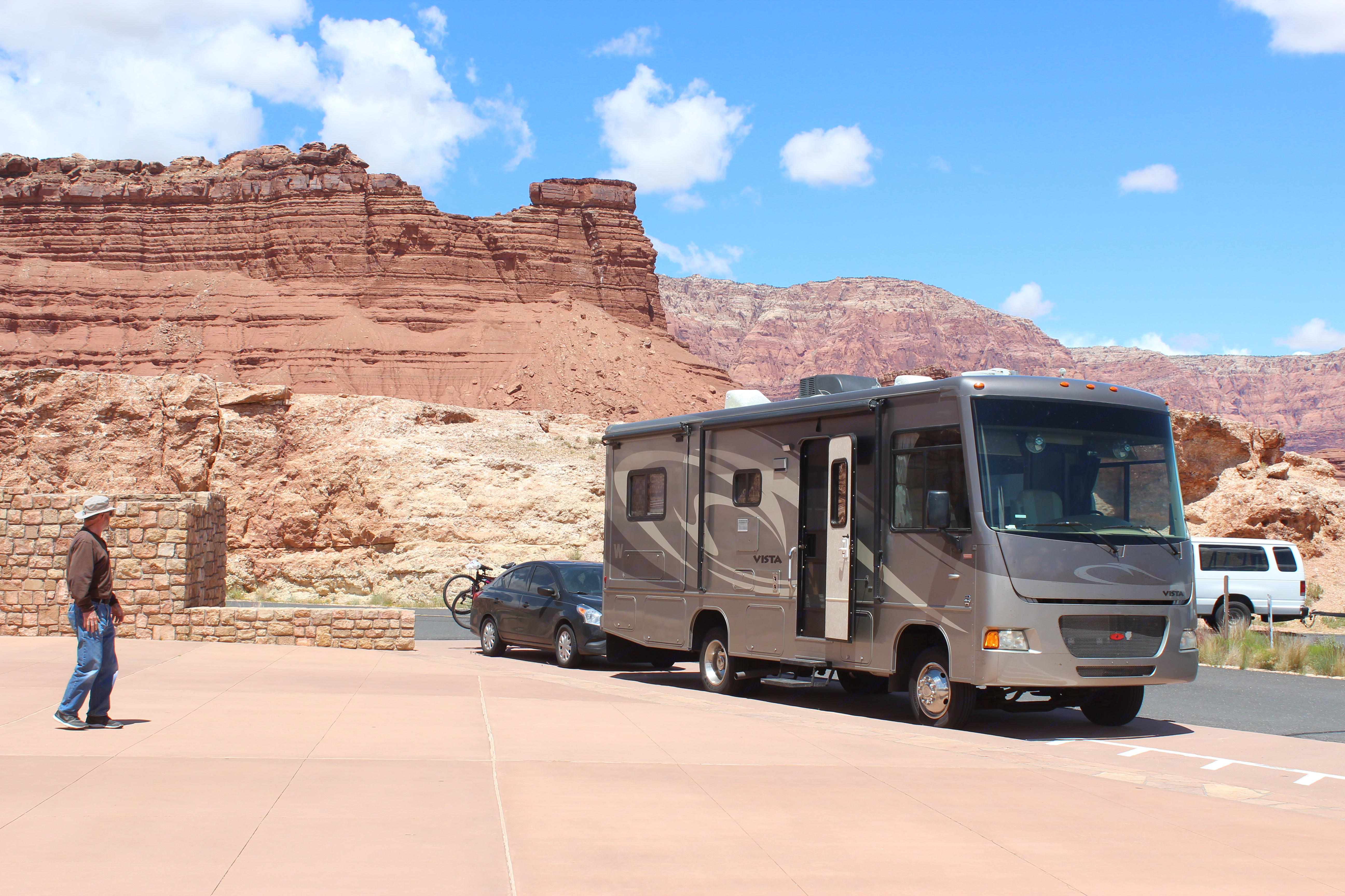 Navajo Reservation Area, Utah. Winnebago Vista 2010