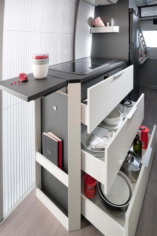 Kitchen . Adria Twin Supreme 640 SLB 2020