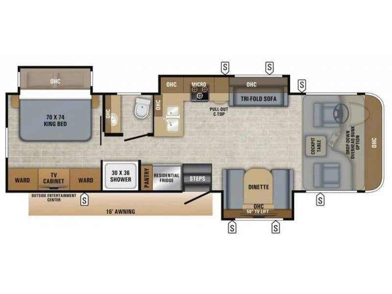 Heres the floorplan.   Sleeps 6. Jayco Precept 2019