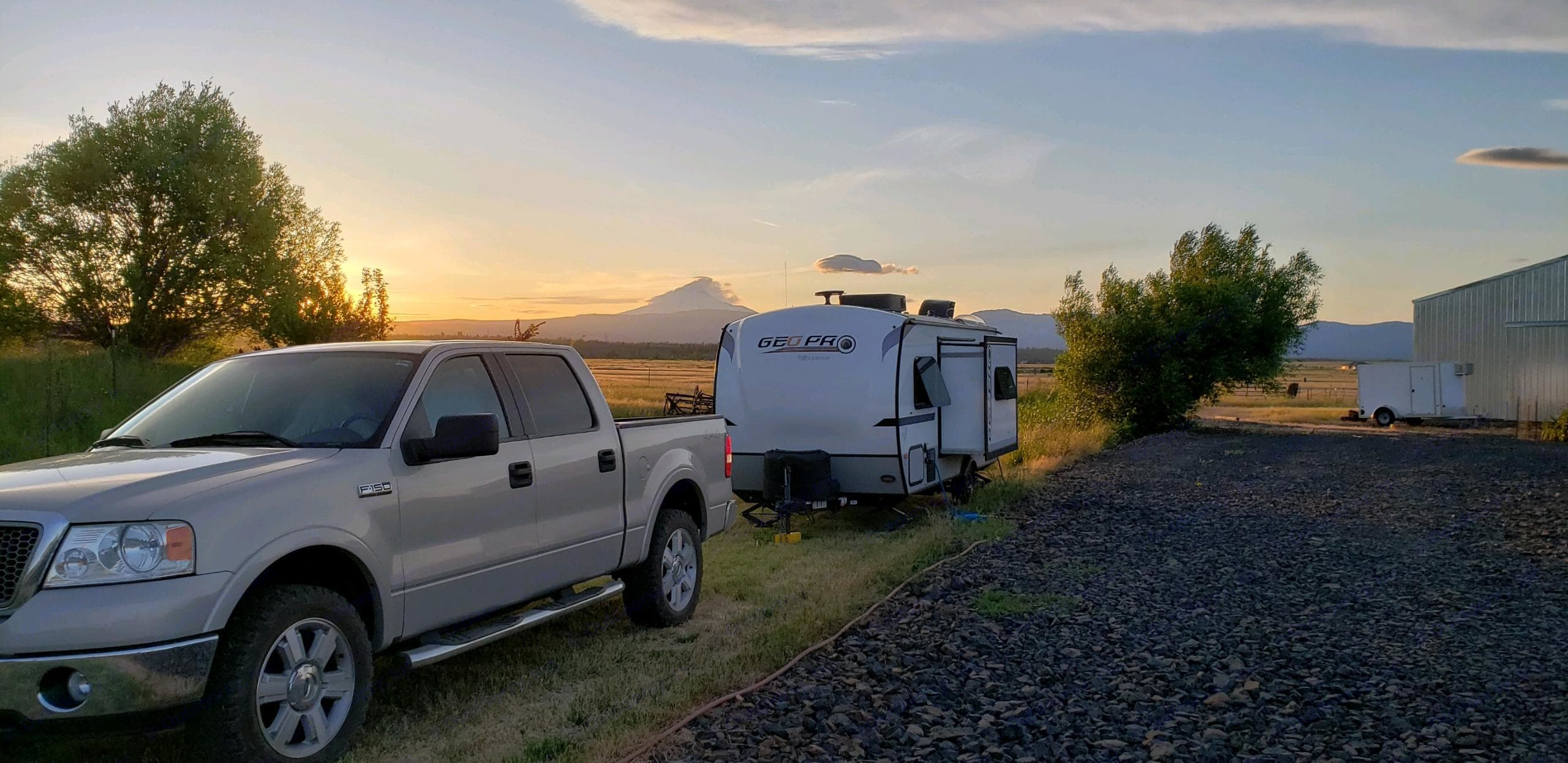 Short Tail Farms. Maupin, OR.. Rockwood Geo Pro 2018