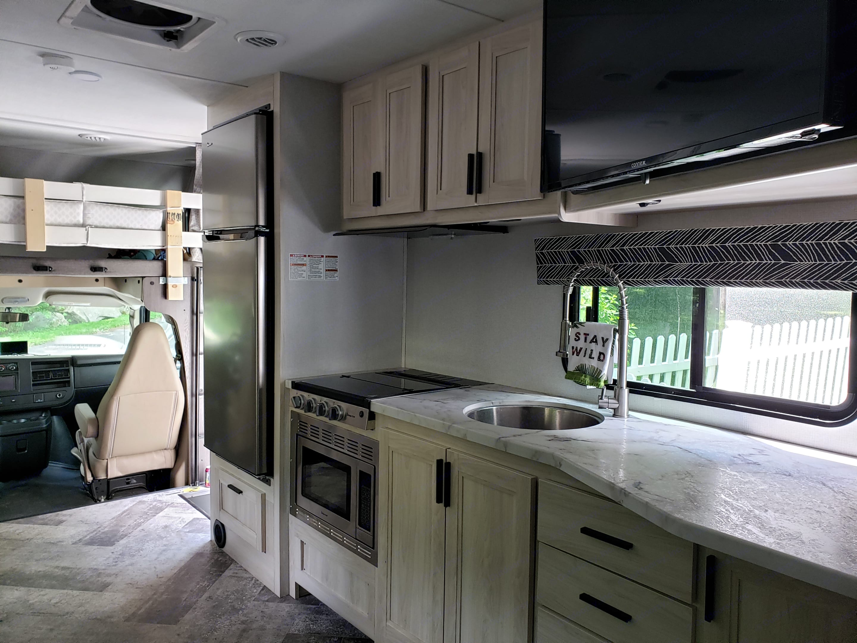 Kitchen. Forest River Forester 2020