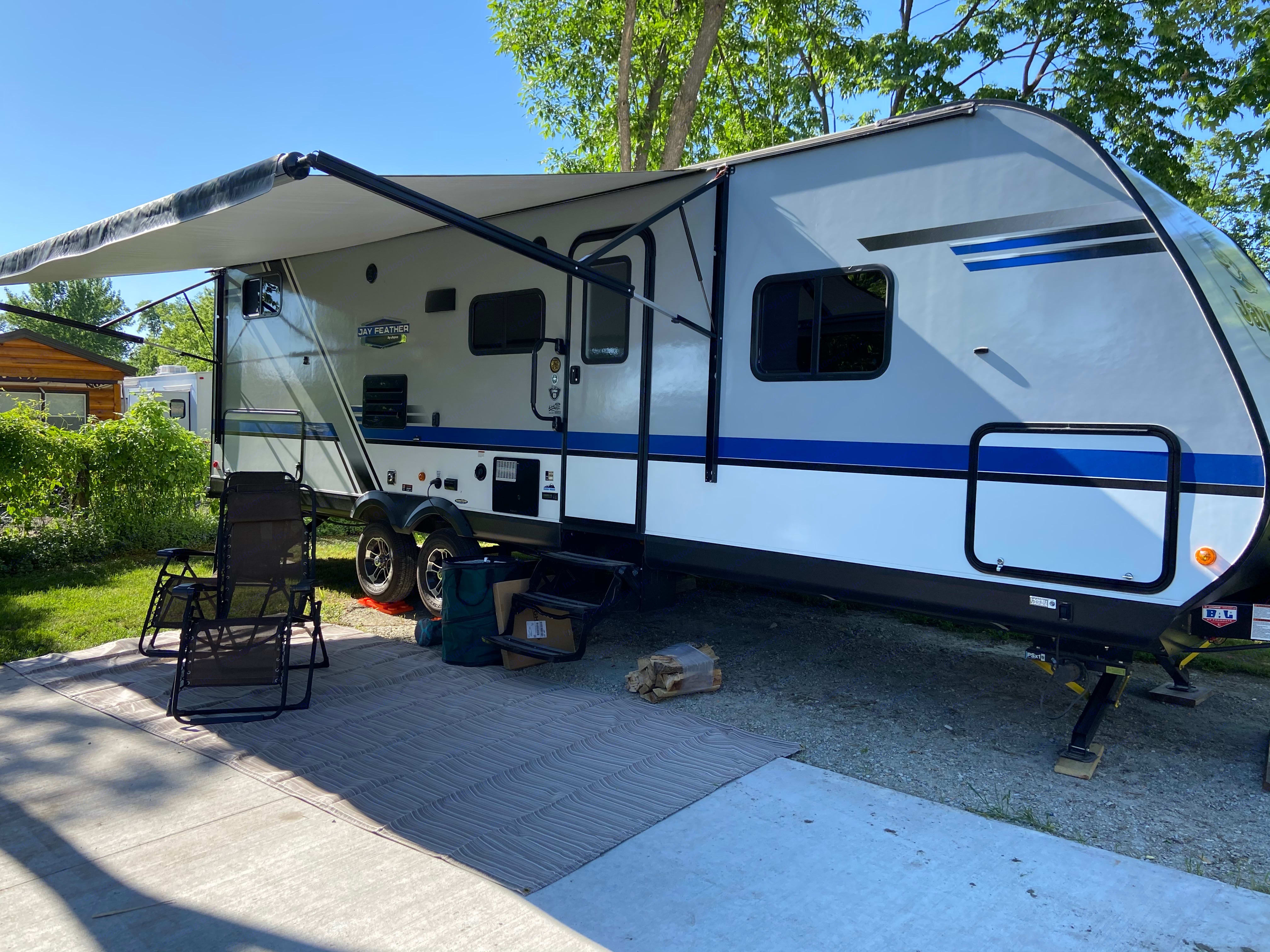 Our home away from home!. Jayco Jay Feather 2019
