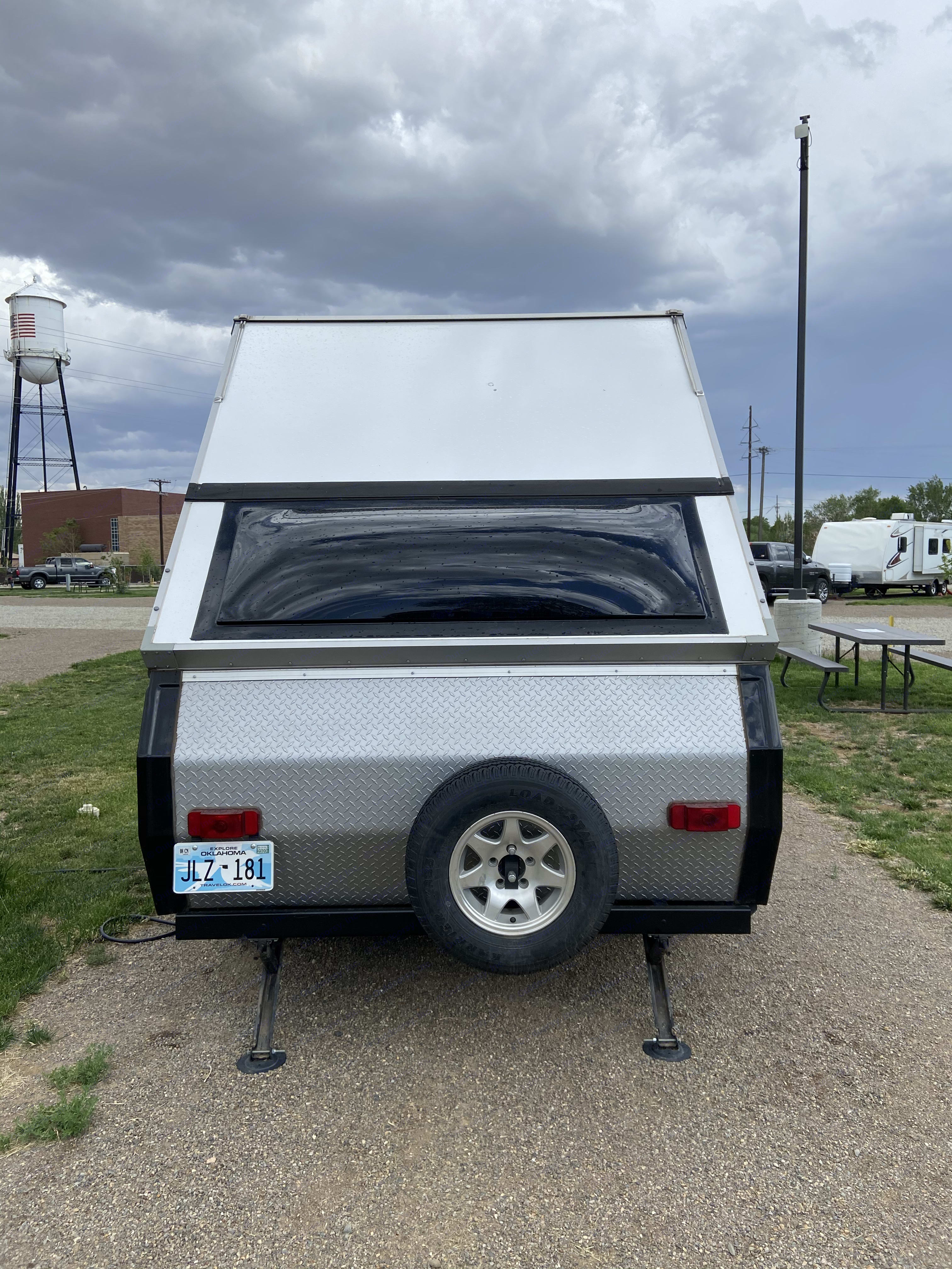 Rear of camper with large windows!. A-Liner Scout 2019