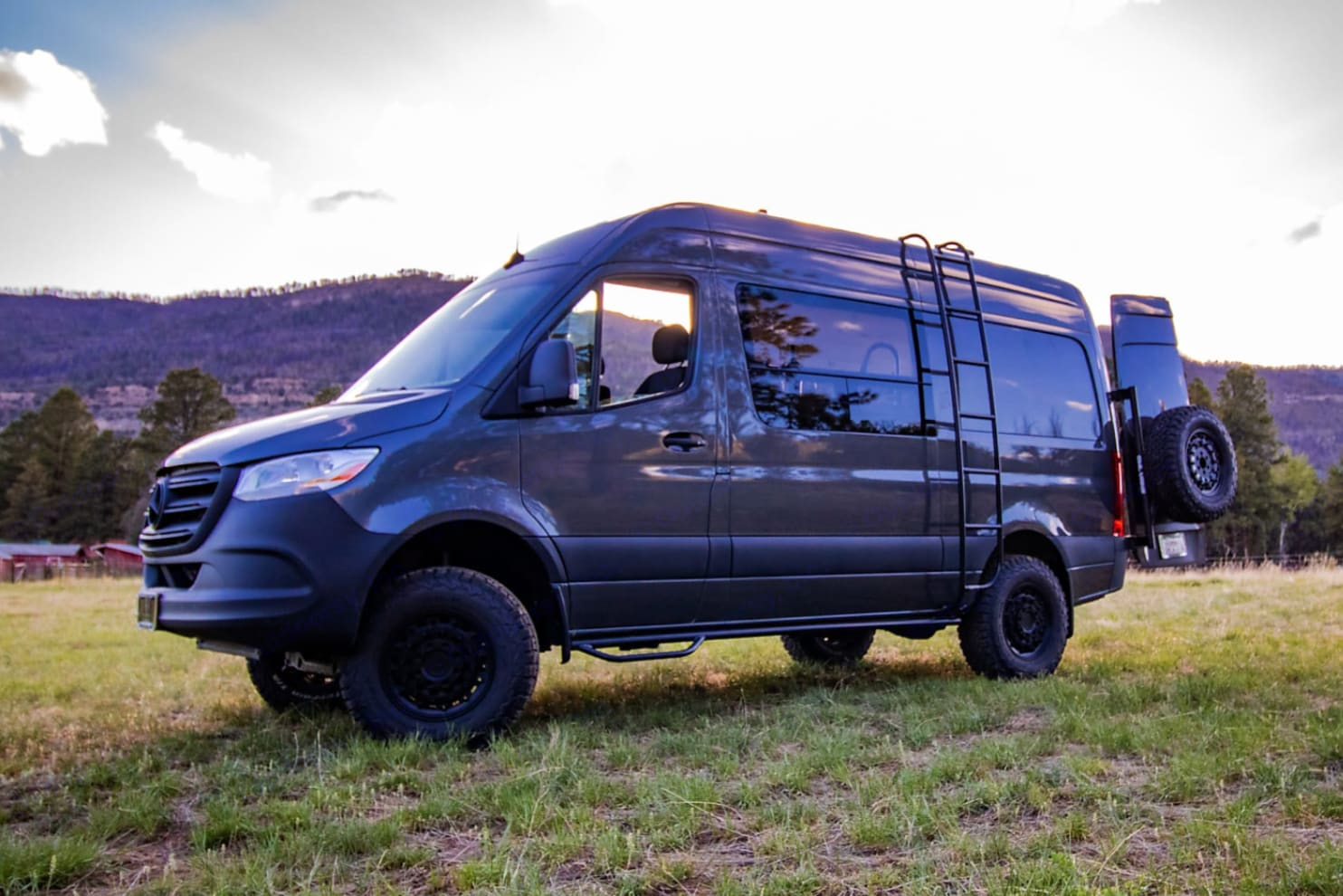 Ranger Van is ready for your next adventure!  . Mercedes-Benz Sprinter 2019