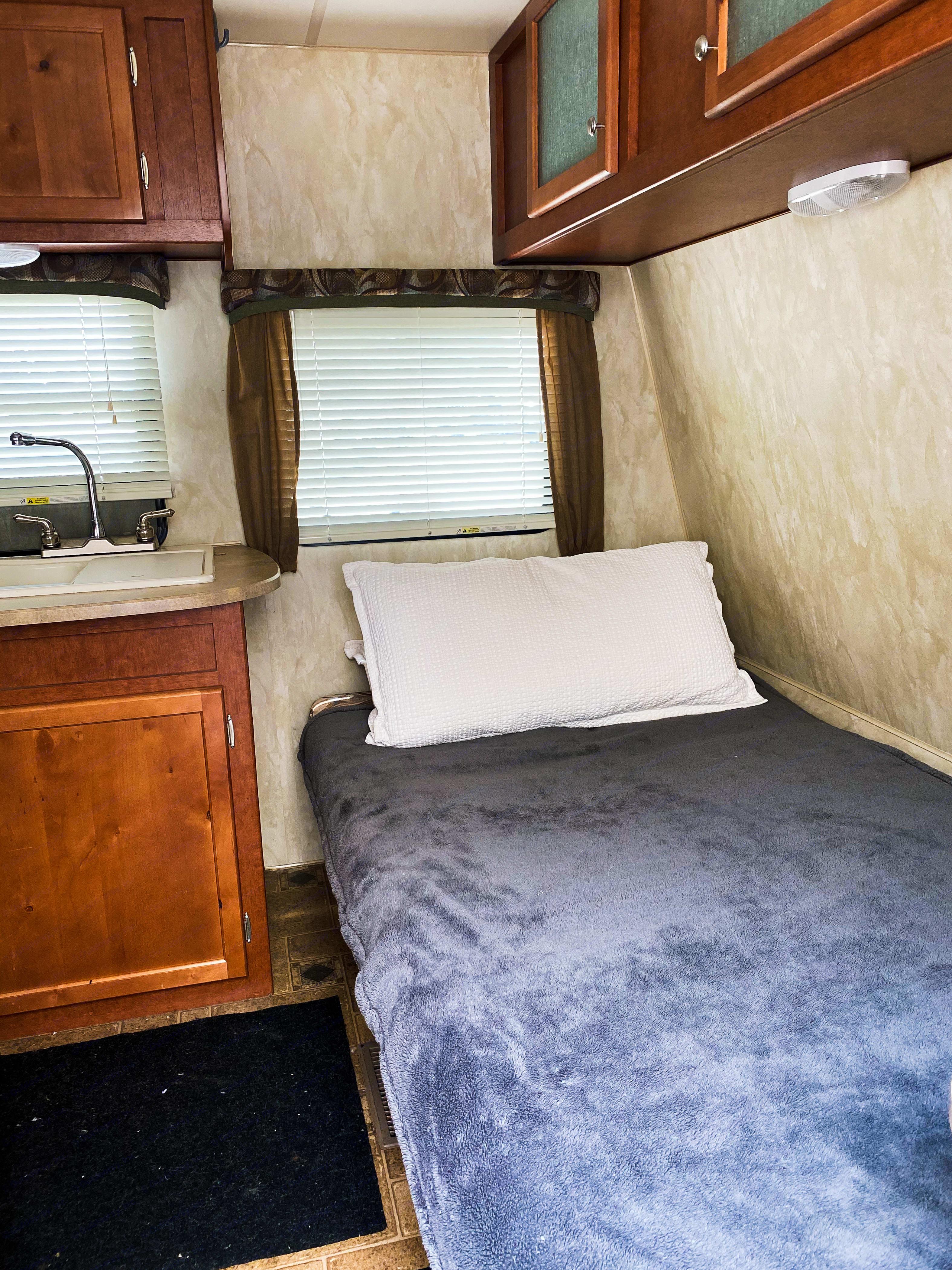 Forward bed. Northwood Mfg Nash 2013
