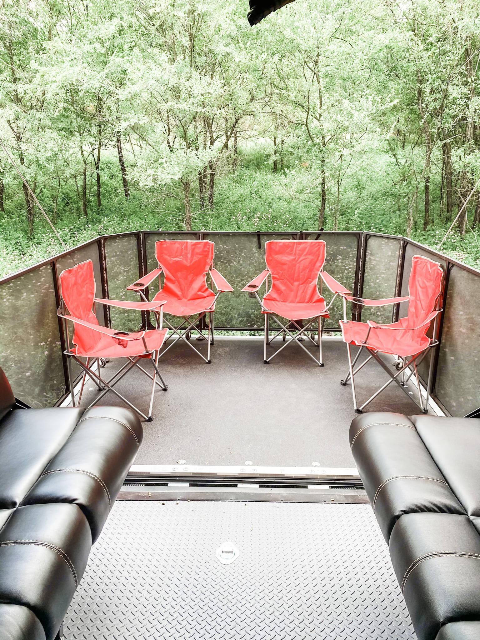 Enjoy the party deck on this toy hauler! Rental includes 6 folding chairs. Party deck 1,500 lbs.. Forest River Other 2020