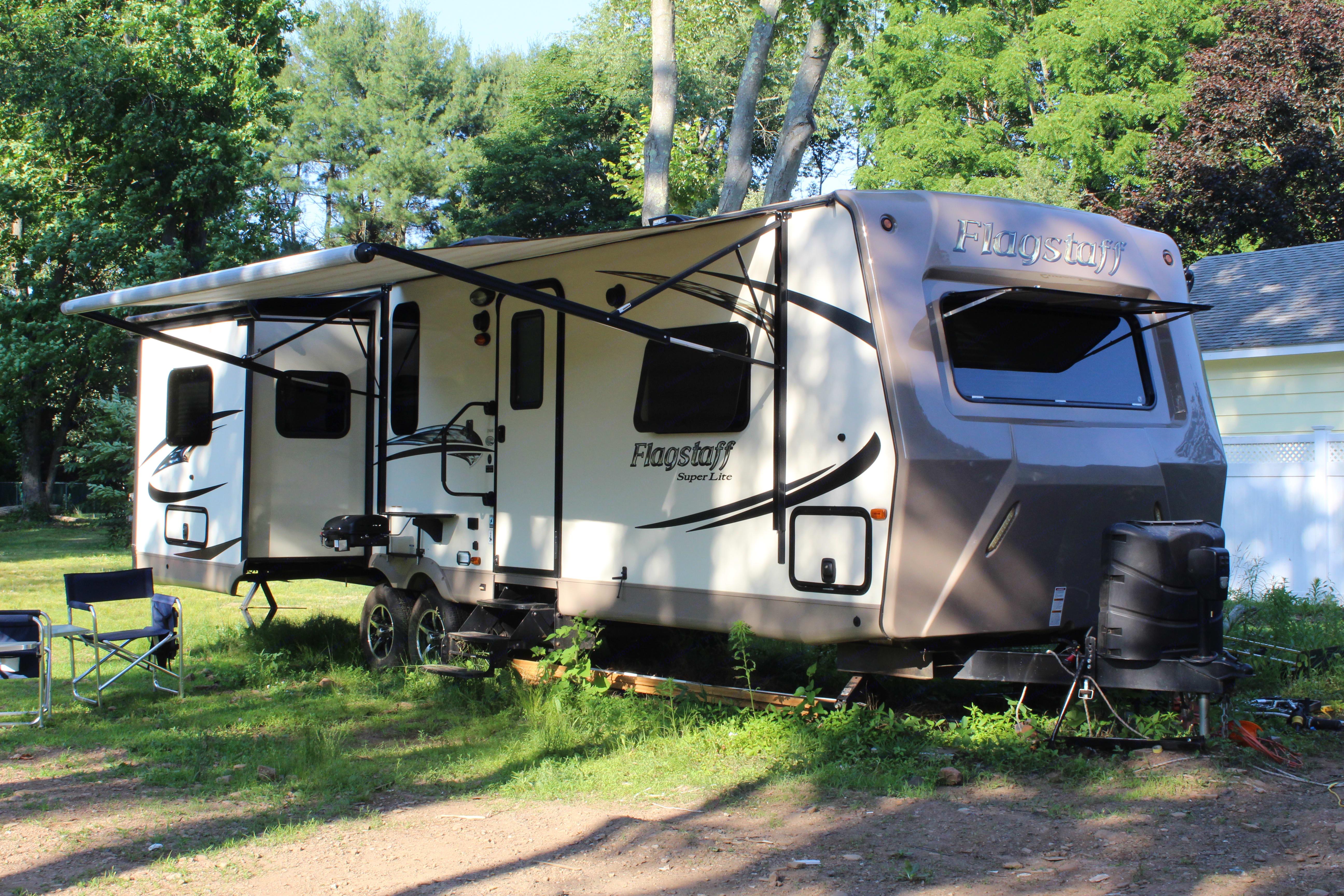 Forest River Inc flagstaff 823D camper trailer 2016