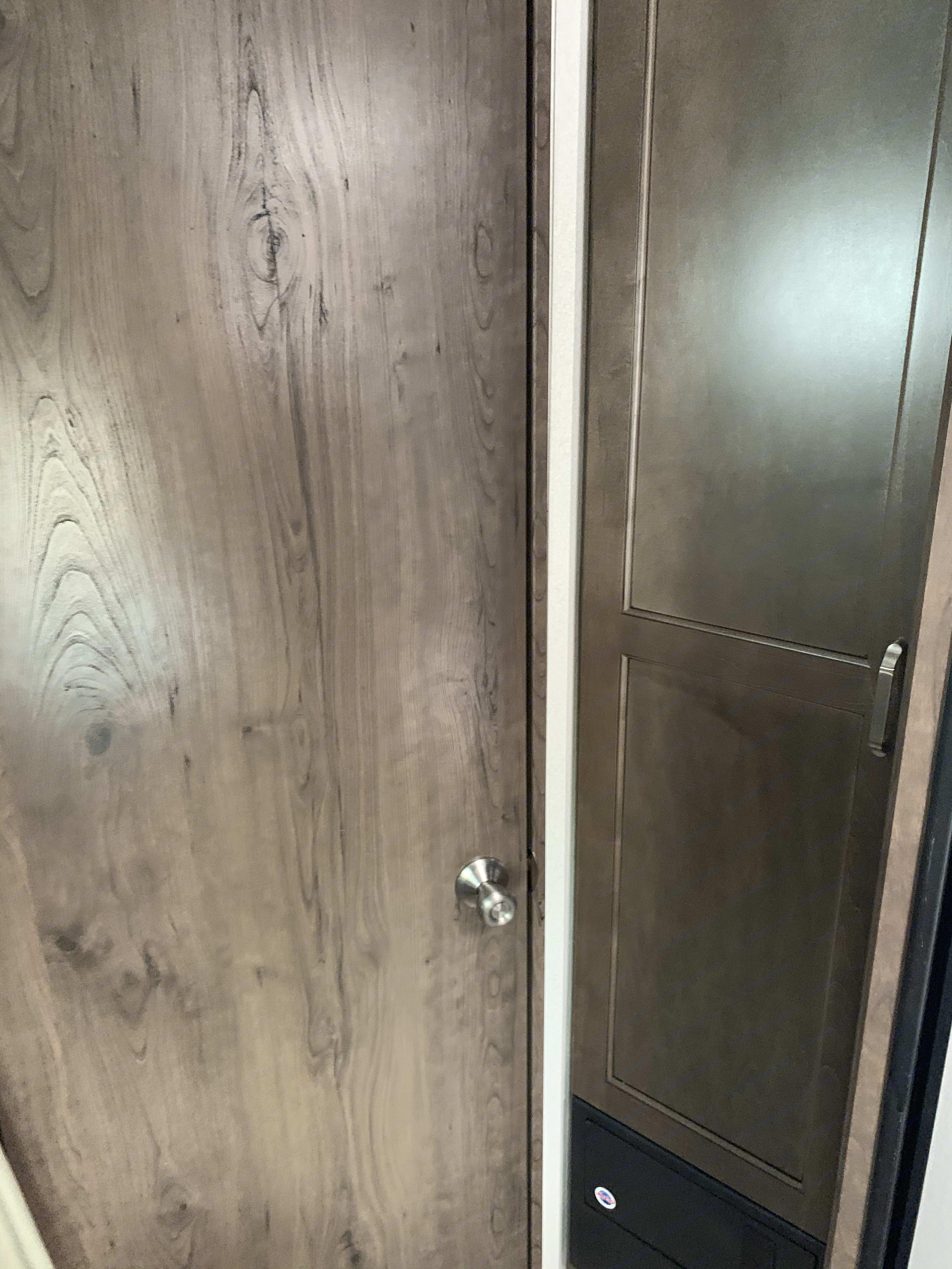 pantry and bathroom room. Keystone Passport 2020
