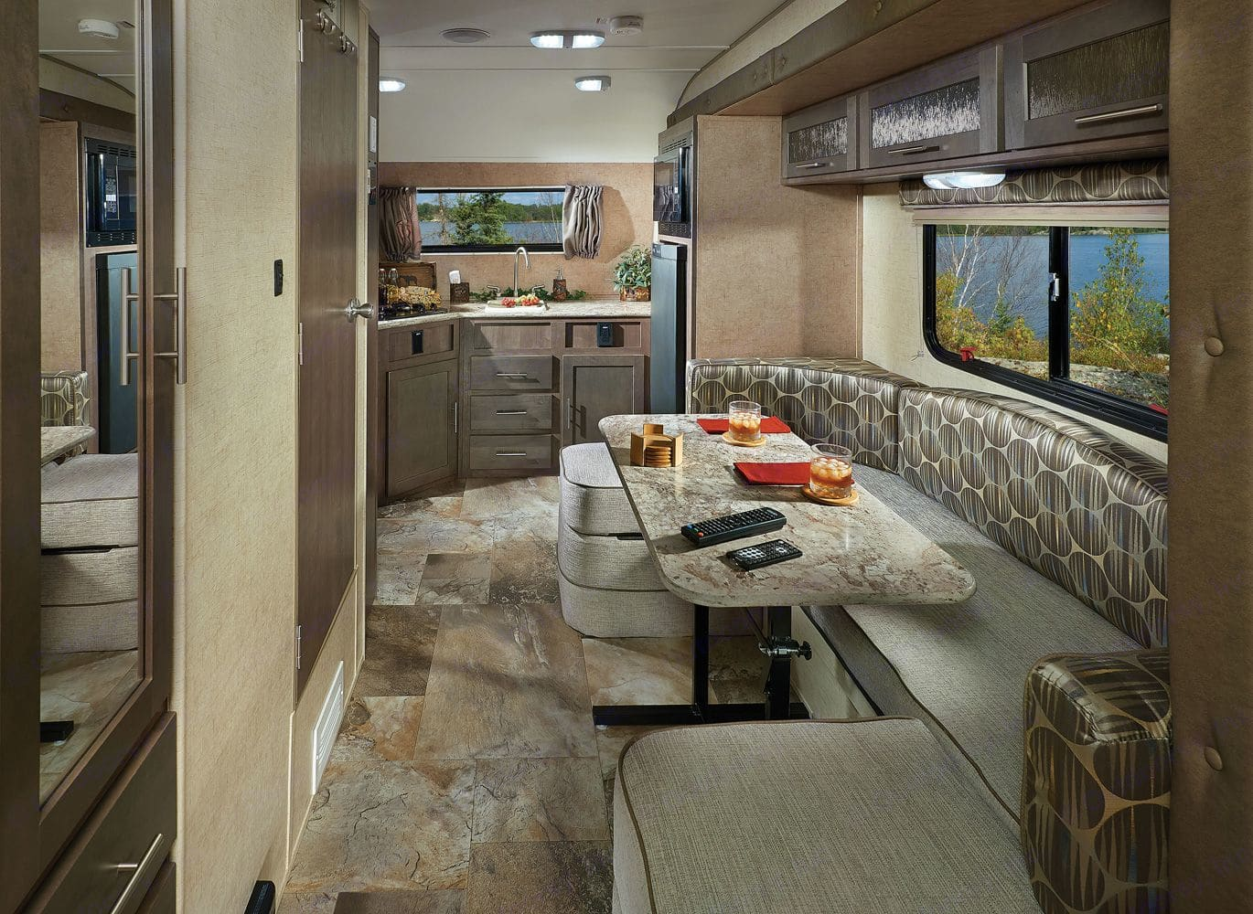 This is a stock image. I will replace with actually images of the RV in the next week.. Forest River R-Pod 2018