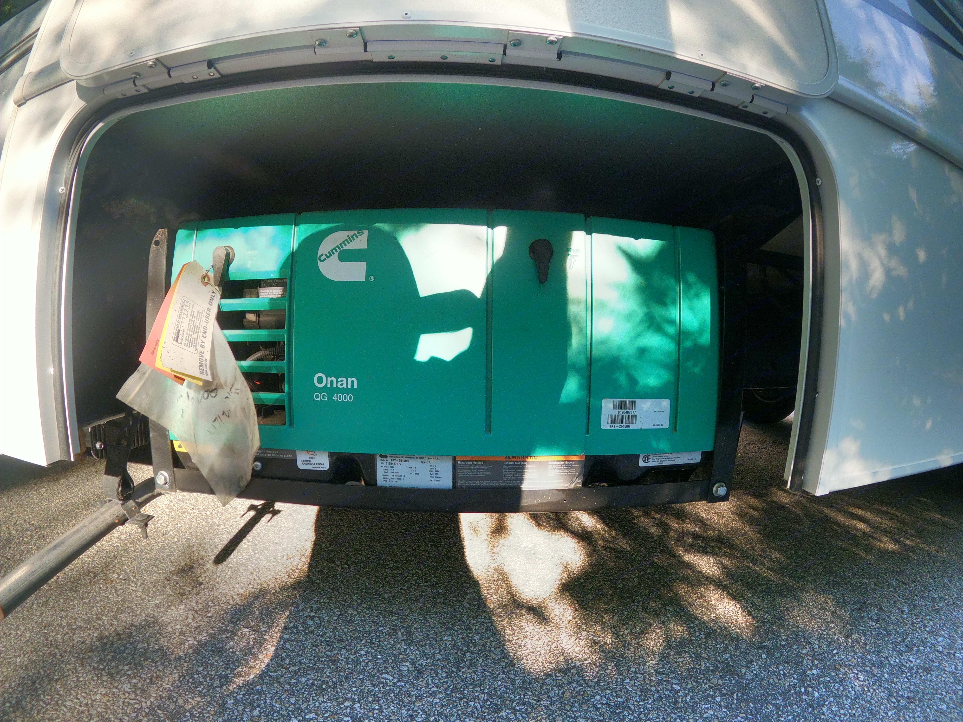 Generator. Forest River Sunseeker 2020