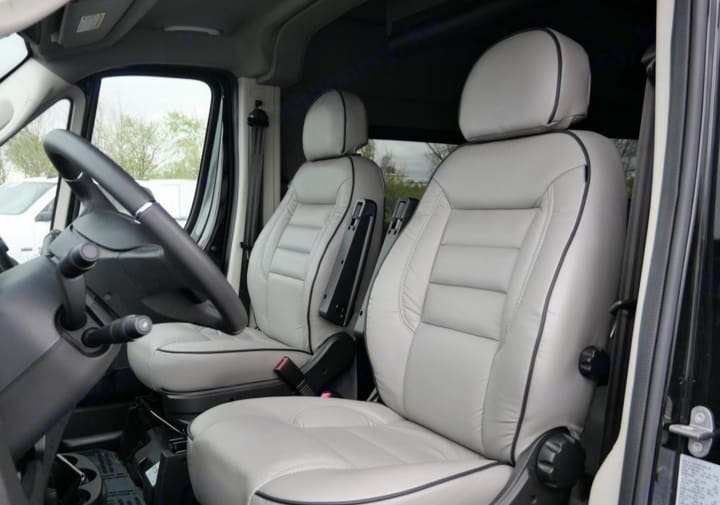 Driver and front passenger. Ram Promaster 2019