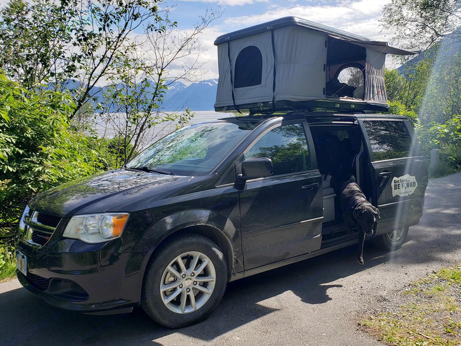 Bring your pets on your travel van adventure!. Dodge Grand Caravan 2016