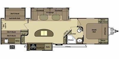 Floor Plan. Open Range Light 2014