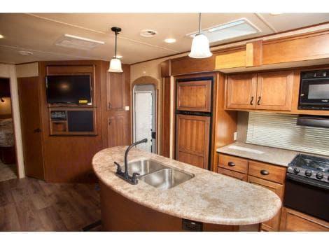 kitchen slide out & entry. Open Range Light 2014