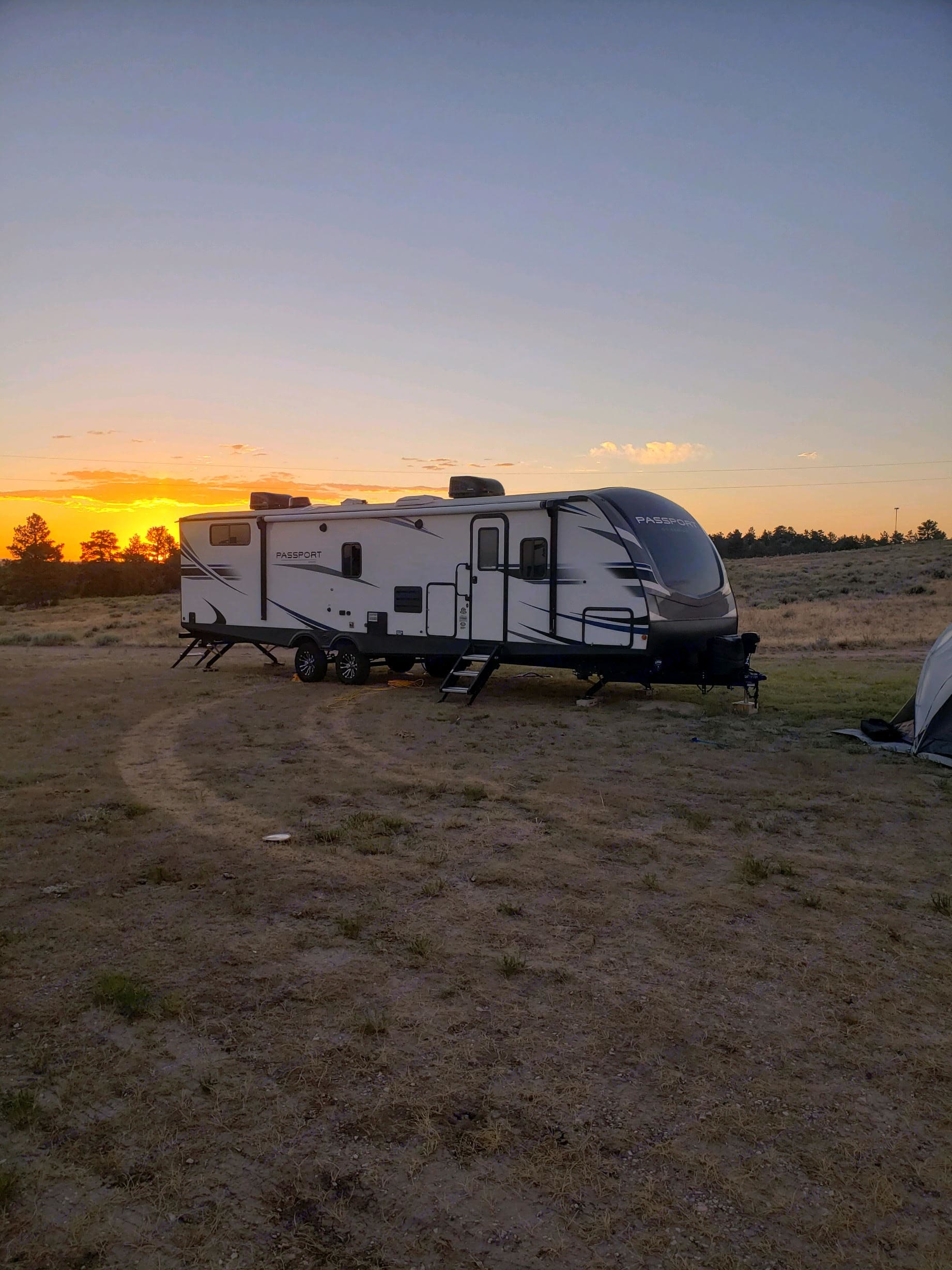 Need we say any more :)  Thank you Mike for sending us this picture why you were using our trailer!. Keystone Passport 2020