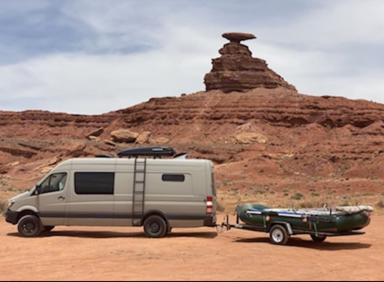 Betty in Southern Utah. Mercedes-Benz Sprinter 2018