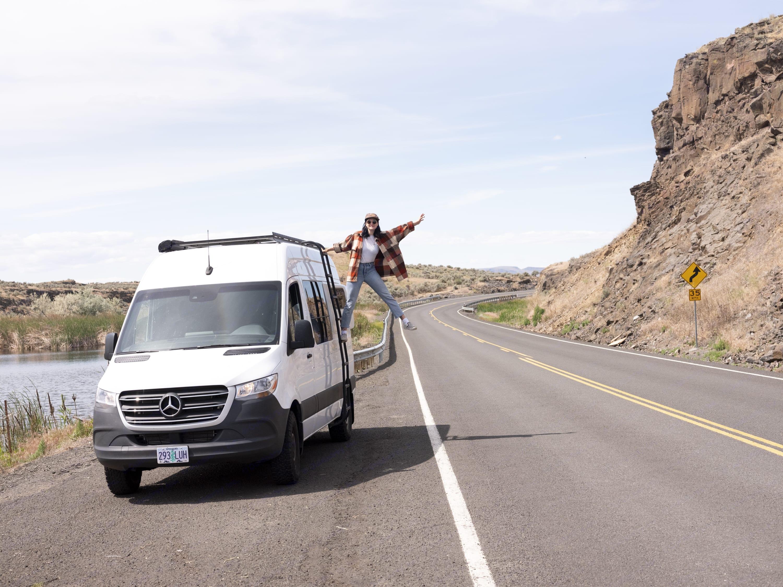 Meet Van'essa a 2019 Mercedes-Benz Sprinter expertly converted by Overland Van Project.. Mercedes-Benz Sprinter 2019