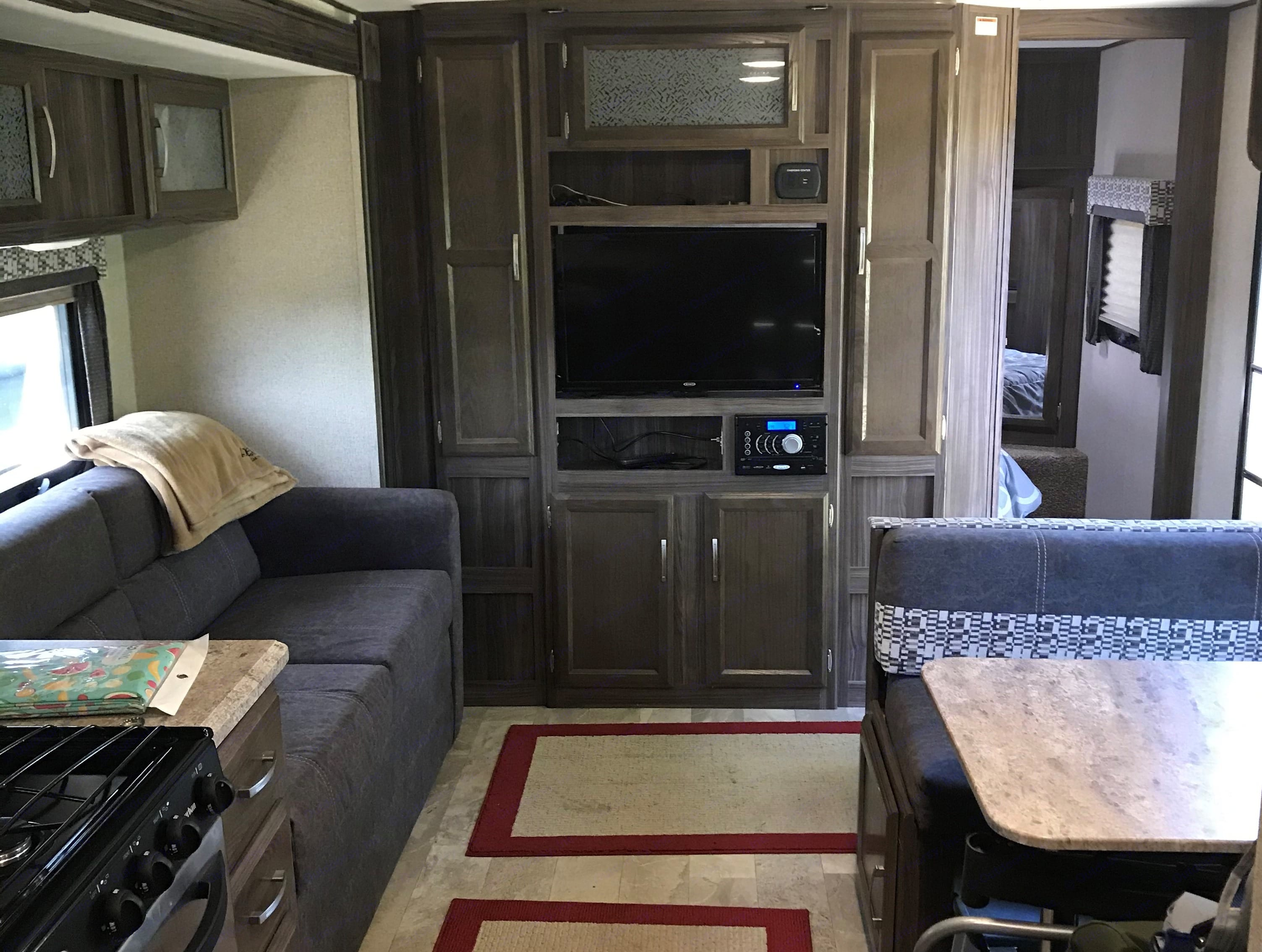 Living Area - opposite view. Coachmen Apex 2017