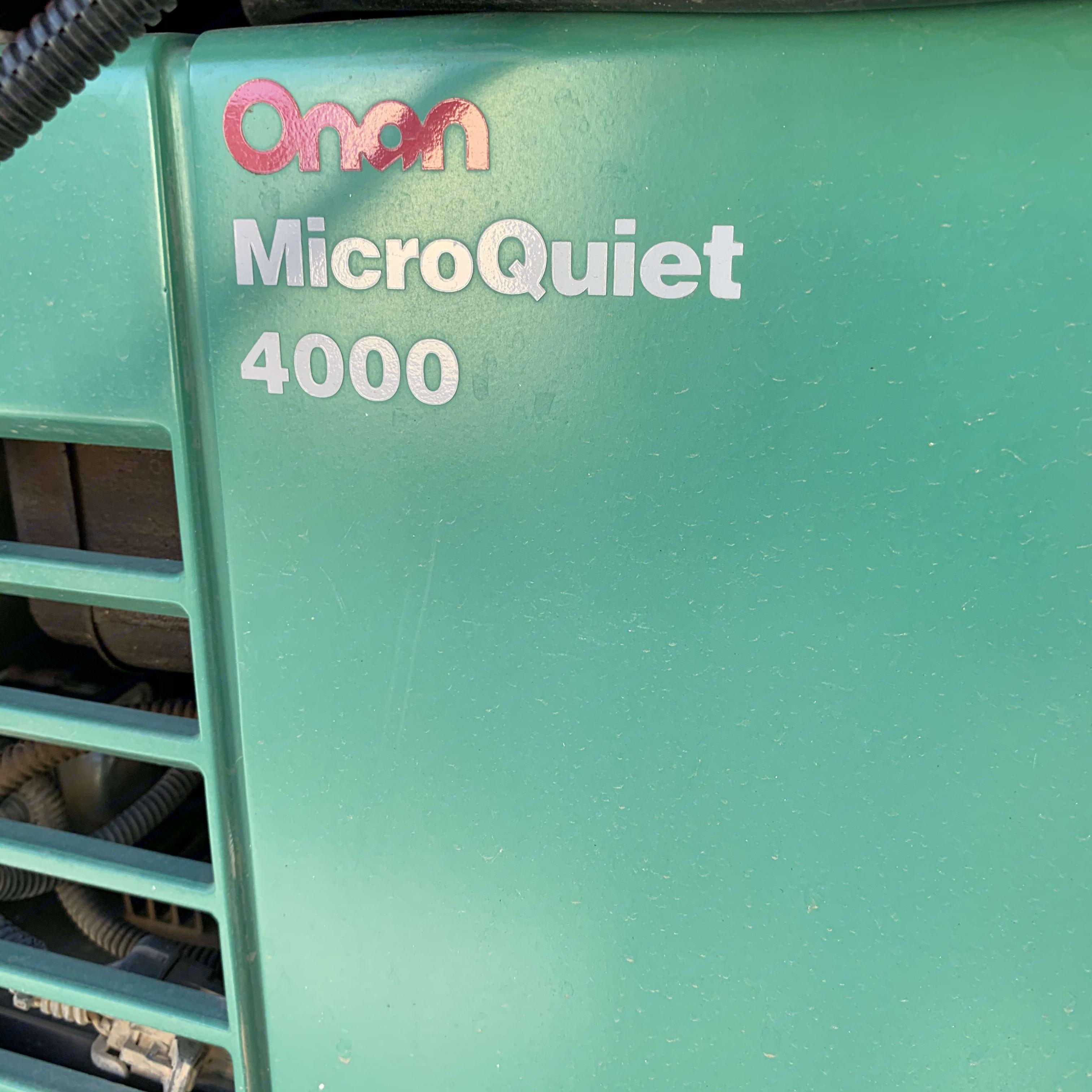 Onan 4000 watt generator. Dutchmen Ntense 2009