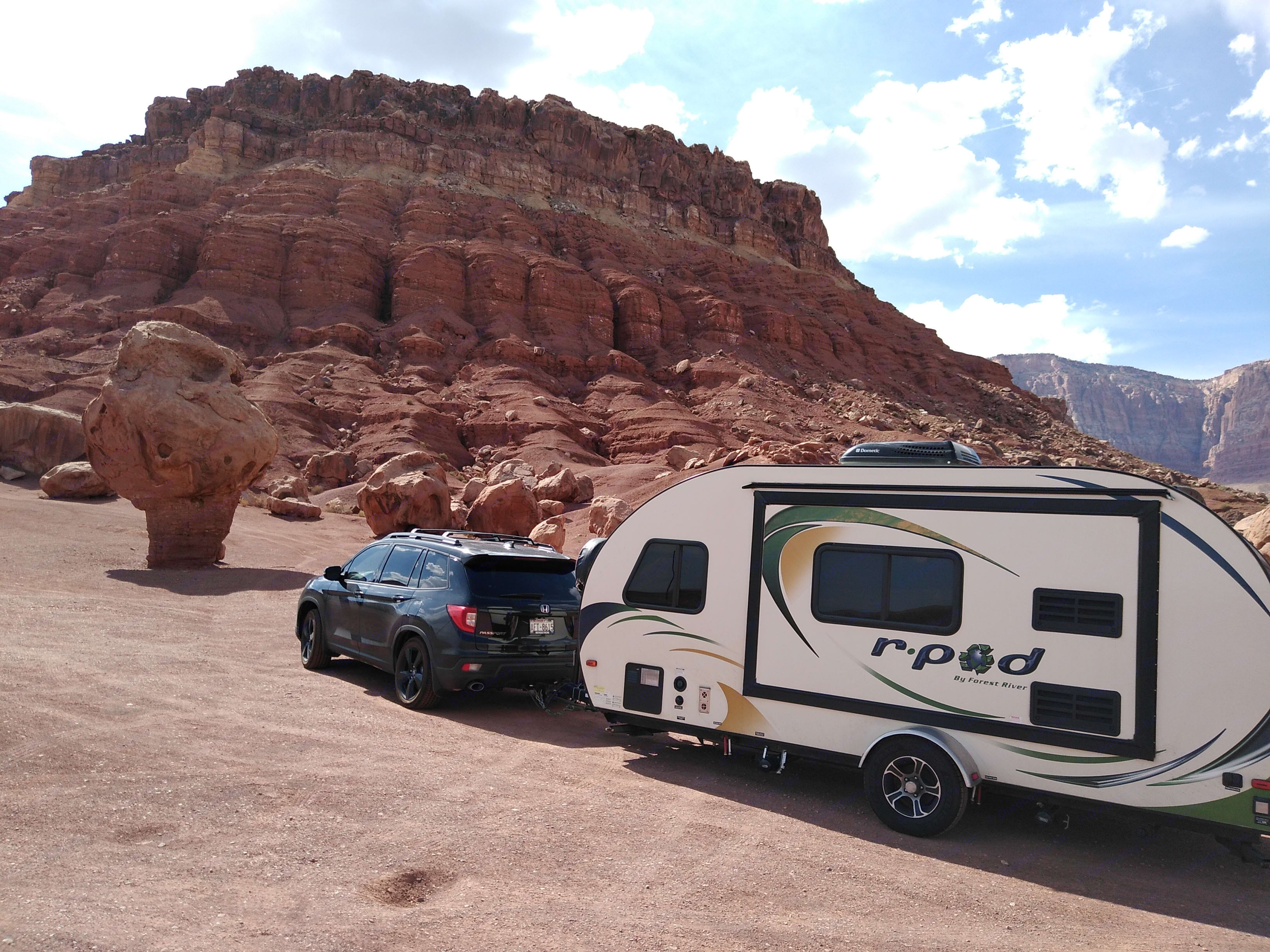 Has all of the basics, didn't need anything else.. Forest River R-Pod 179 2014