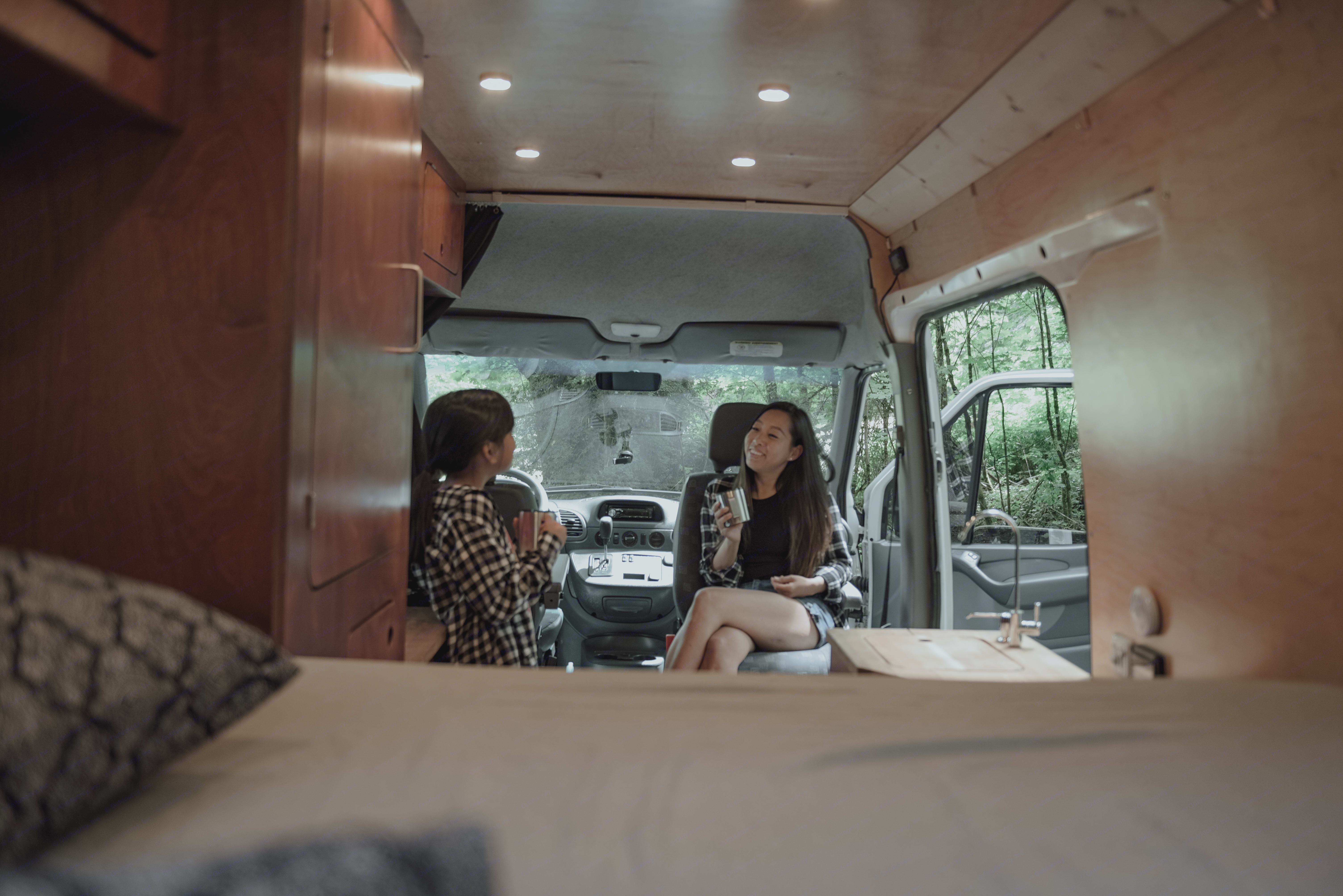 The comfort of home wherever you park.  . Mercedes-Benz Sprinter 2005