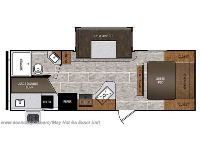 Open FloorPlan. Prime Time Avenger 2021