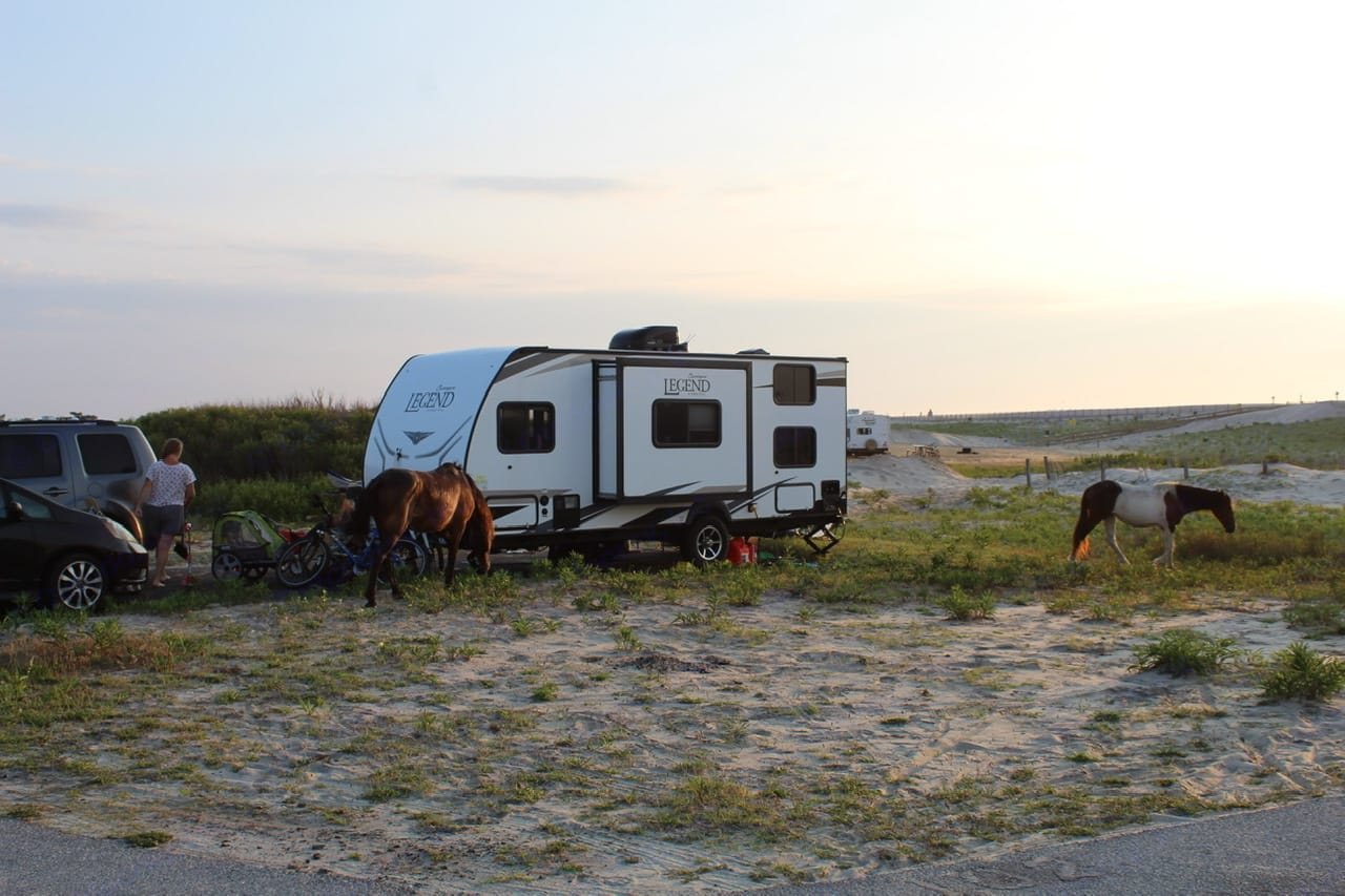 AssateagueStatePark,Maryland. ForestRiver Surveyor 2019
