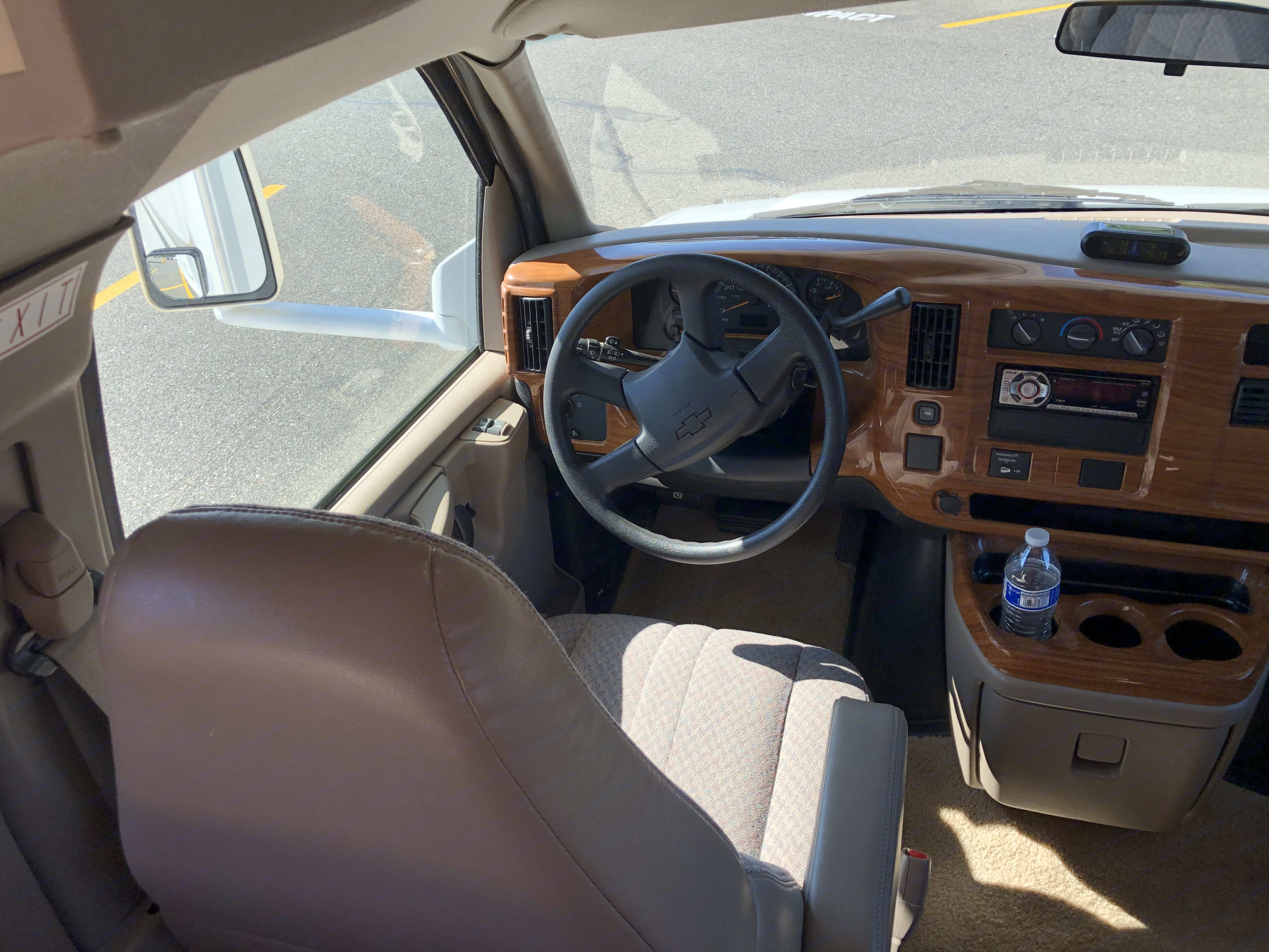 Drivers Seat. Chevrolet 28AFourWindFive-Thousand 2005