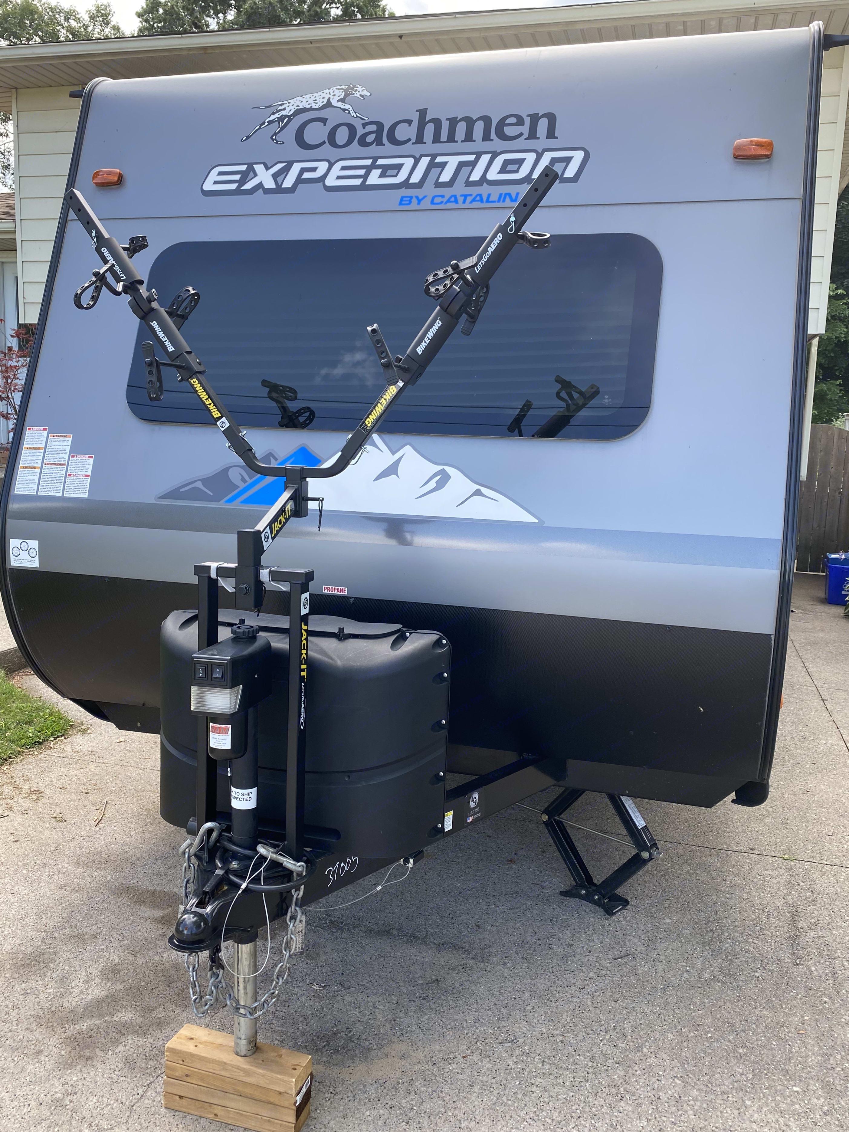front mount bike rack. Coachmen Catalina 2020