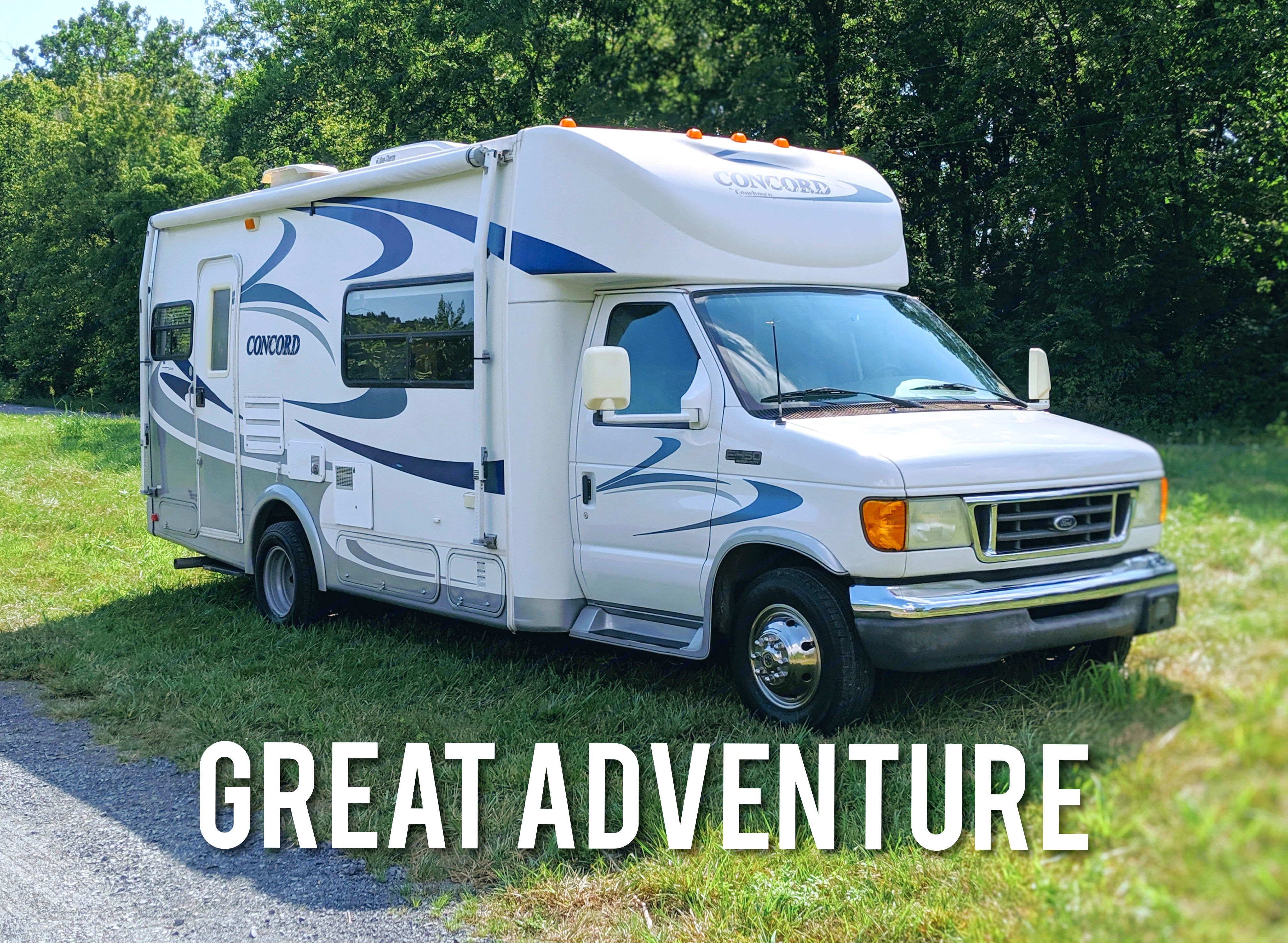 Ready for your 'Great Adventure'. Coachmen Concord 2003