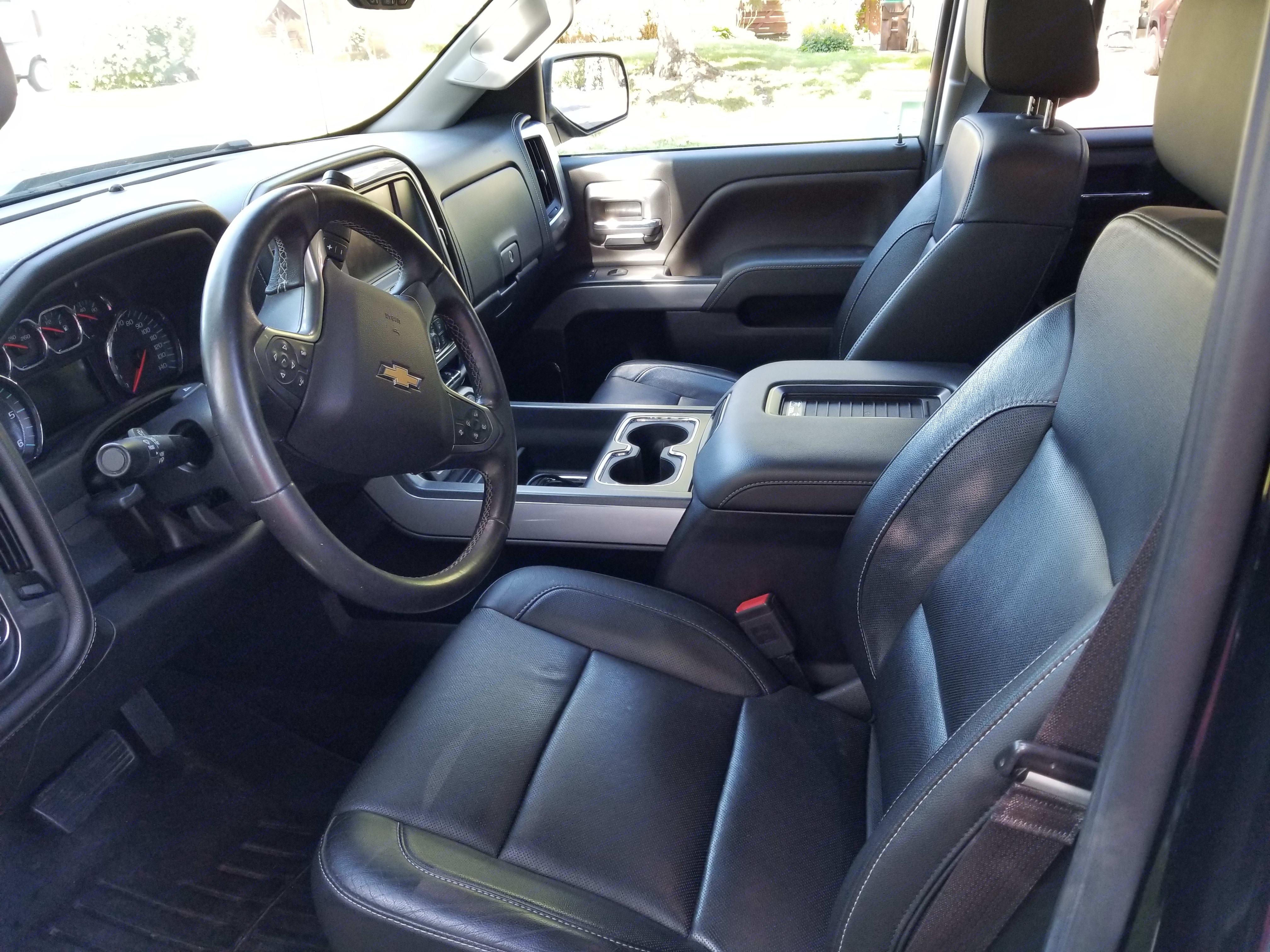 Chevy Silverado 2500 HD 2016