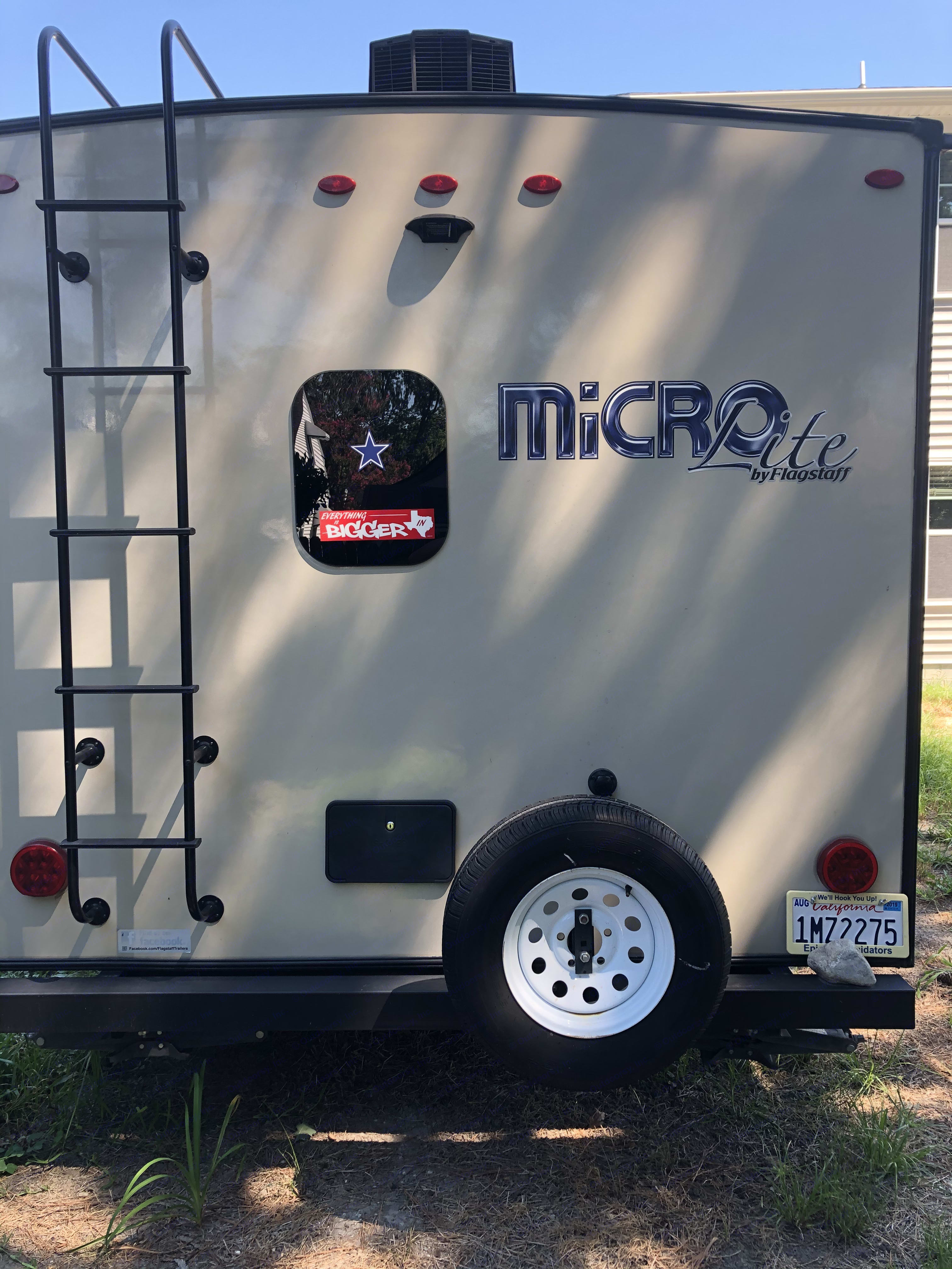 Trailer rear end.. Forest River Flagstaff Micro Lite 2019